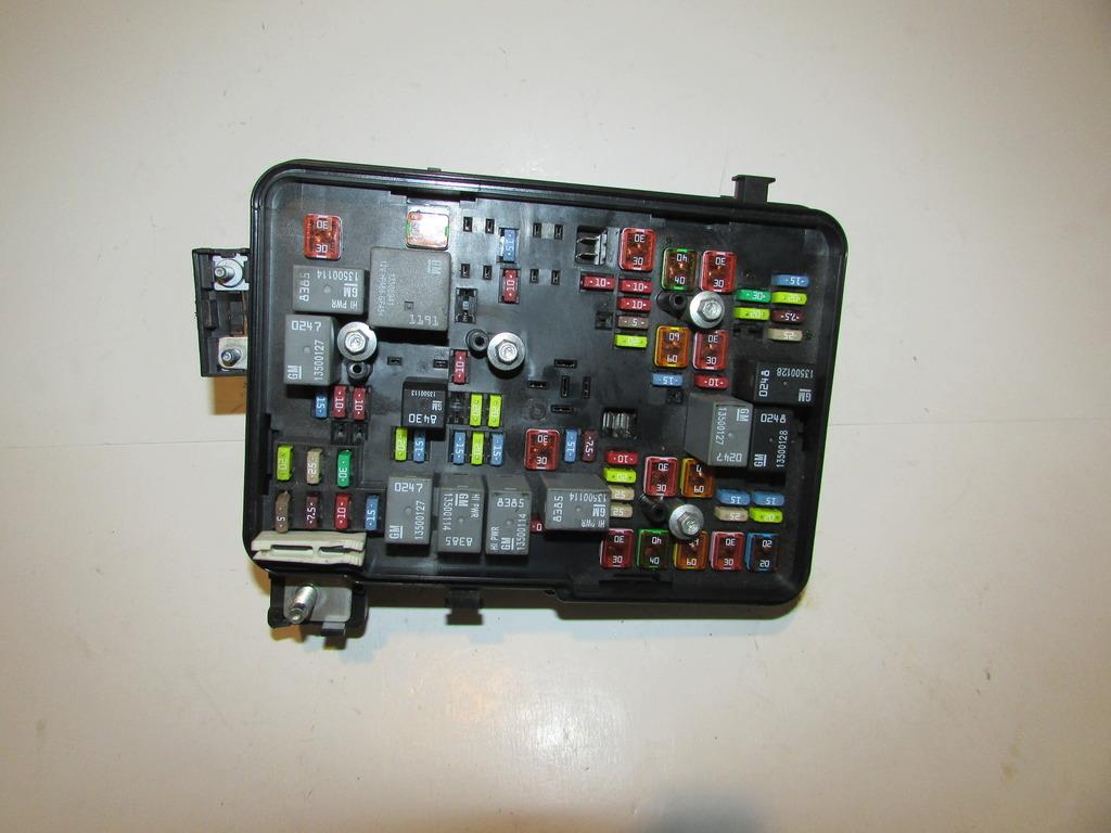 Kenworth t fuse box