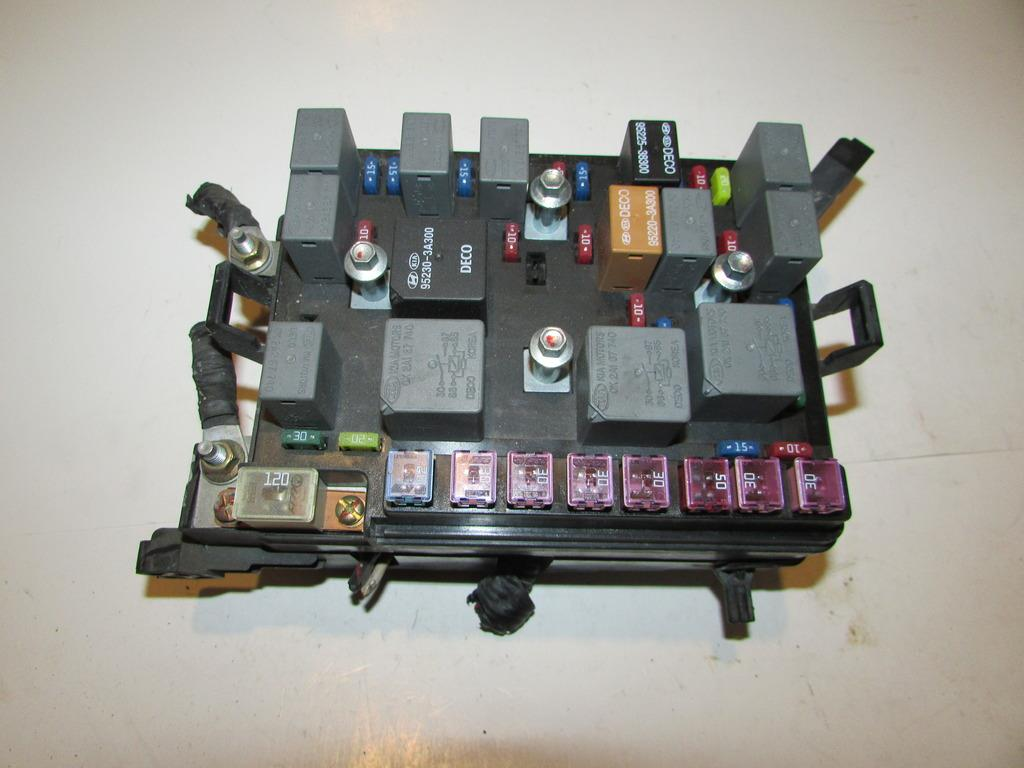 00 04 Kia Spectra 20l Sedan Bajo Cap Rel Caja De Fusibles Bloque Pride Fuse Box Under Hood Relay Block Warranty 1917