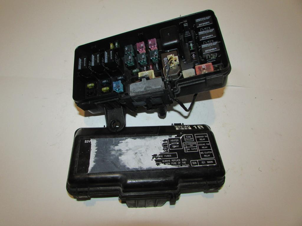 01 03 Acura Mdx 35l V6 Touring Under Hood Relay Fuse Box Block 2004 Warranty 2061