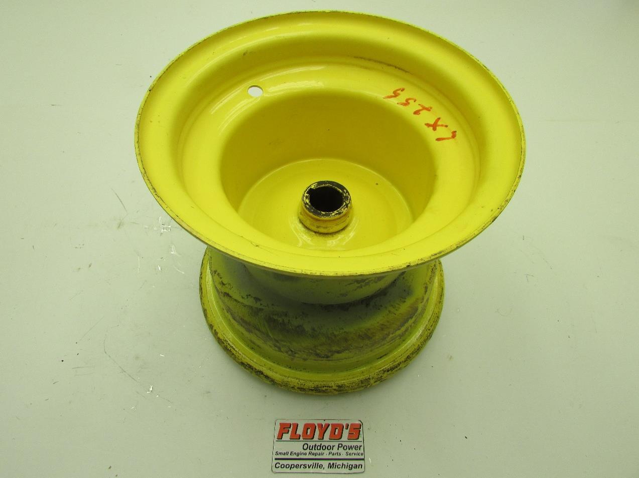 For John Deere Garden Tractor Wheel Rims : John deere lx lawn tractor rear wheel rim am