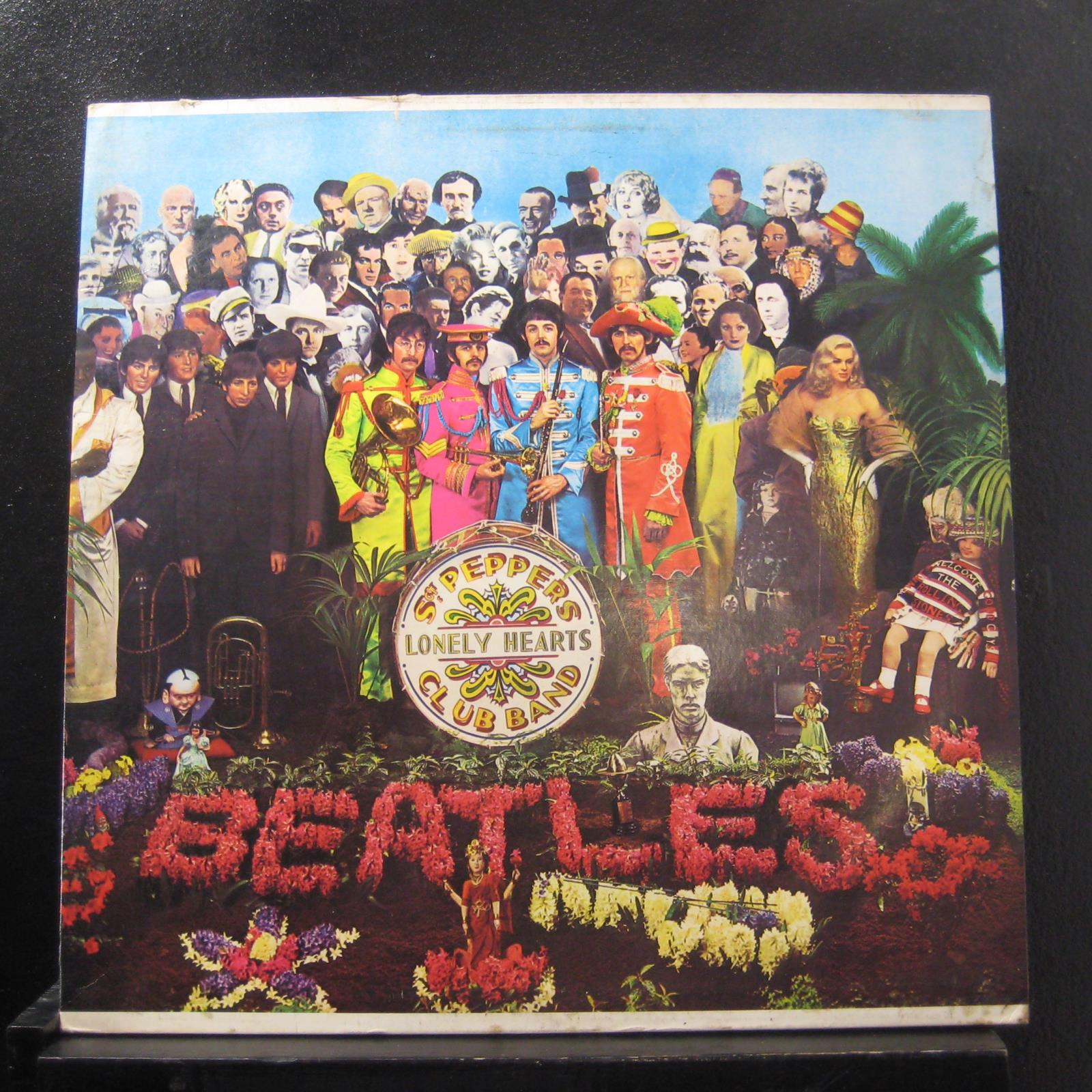 The Beatles Sgt Pepper S Lonely Hearts Club Band Lp Vg