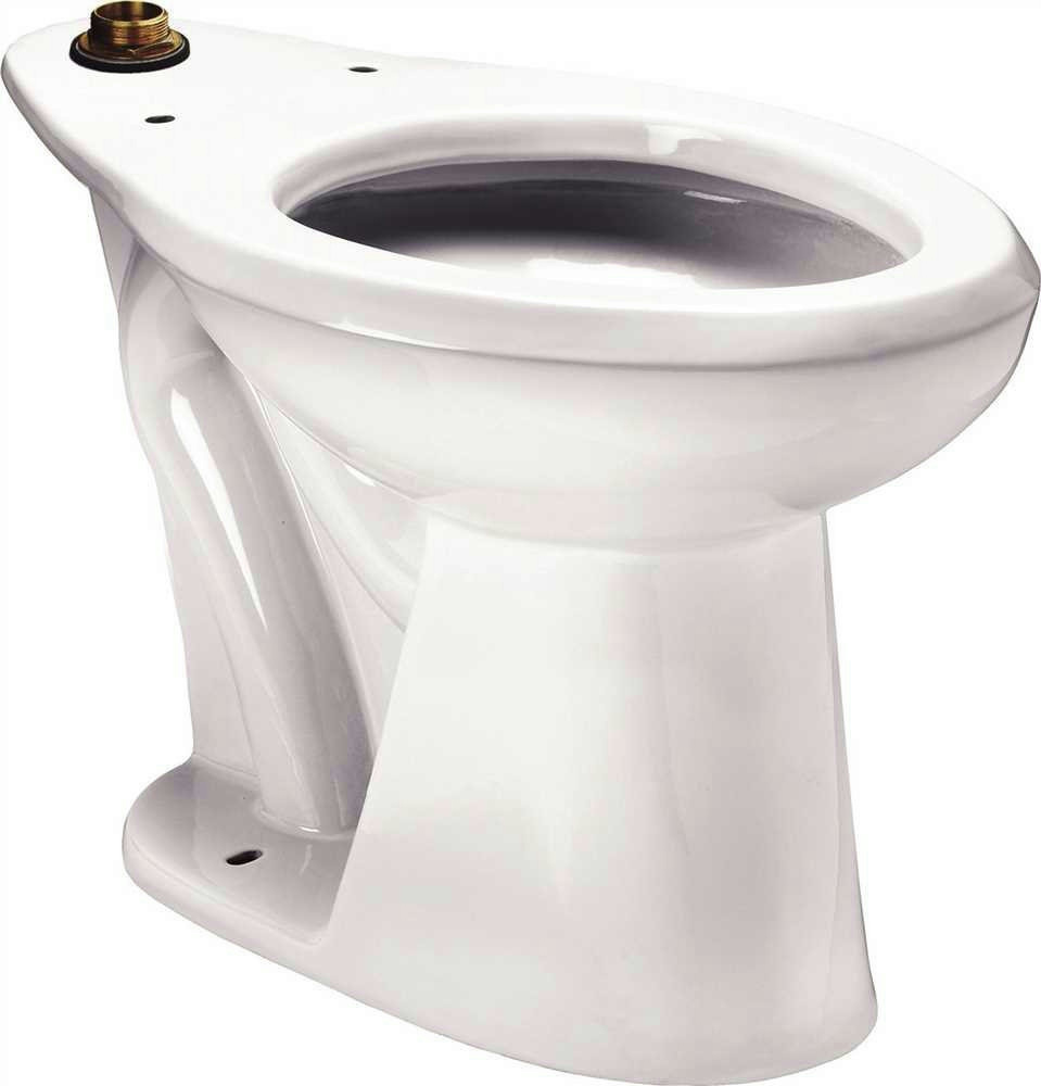 sloan elongated standard height toilet less seat white 1