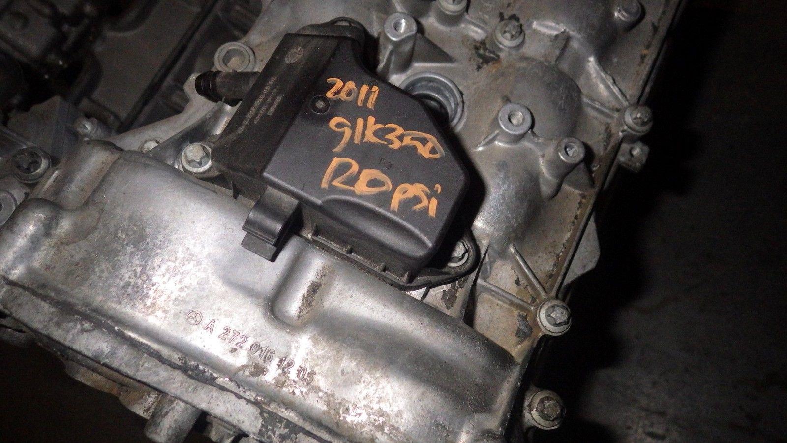 09 12 mercedes glk350 engine motor v6 3 5l rwd ebay for Mercedes benz 3 5 v6 engine