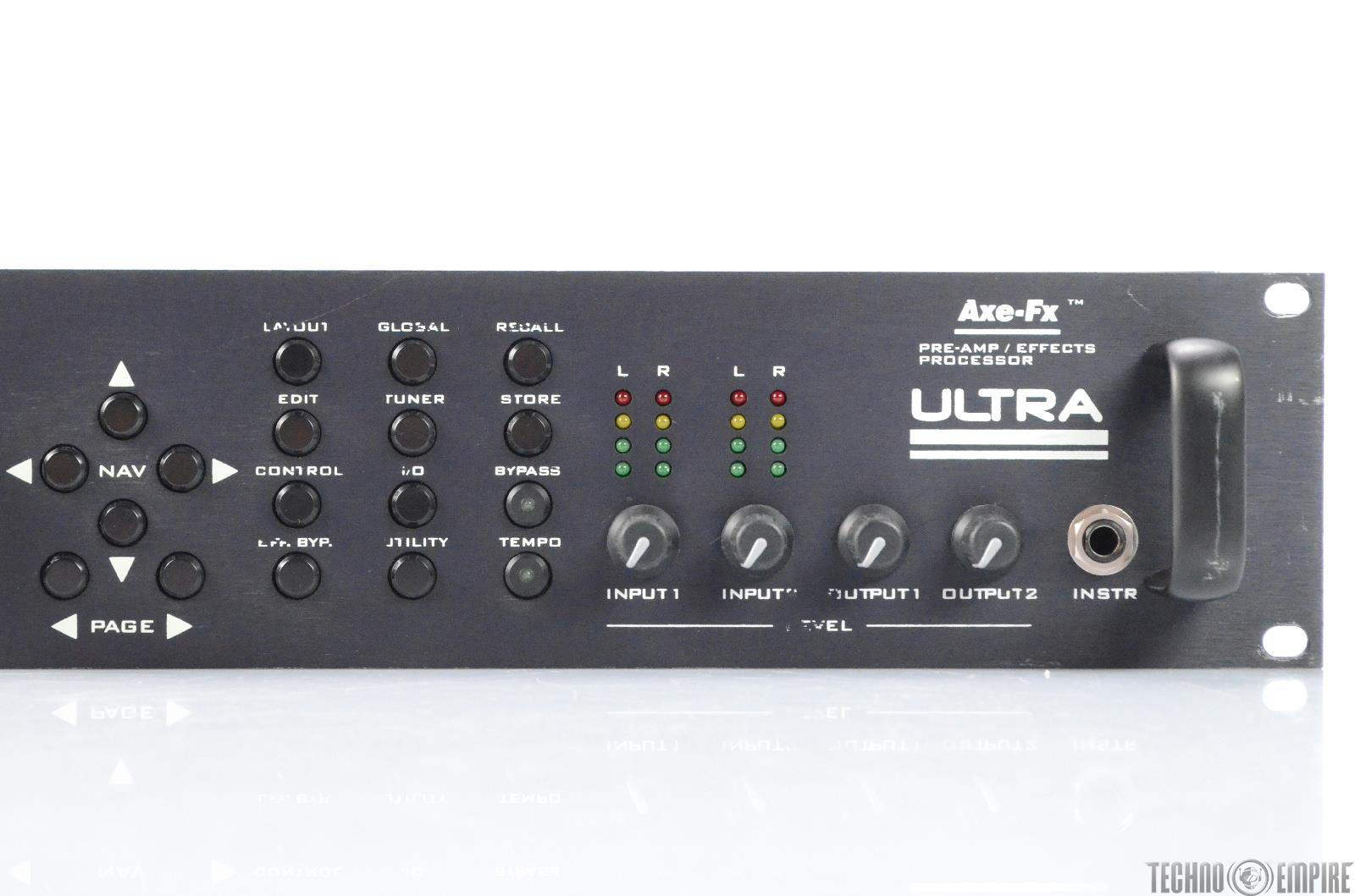 fractal audio systems axe fx ultra pre amp effects processor 28193. Black Bedroom Furniture Sets. Home Design Ideas
