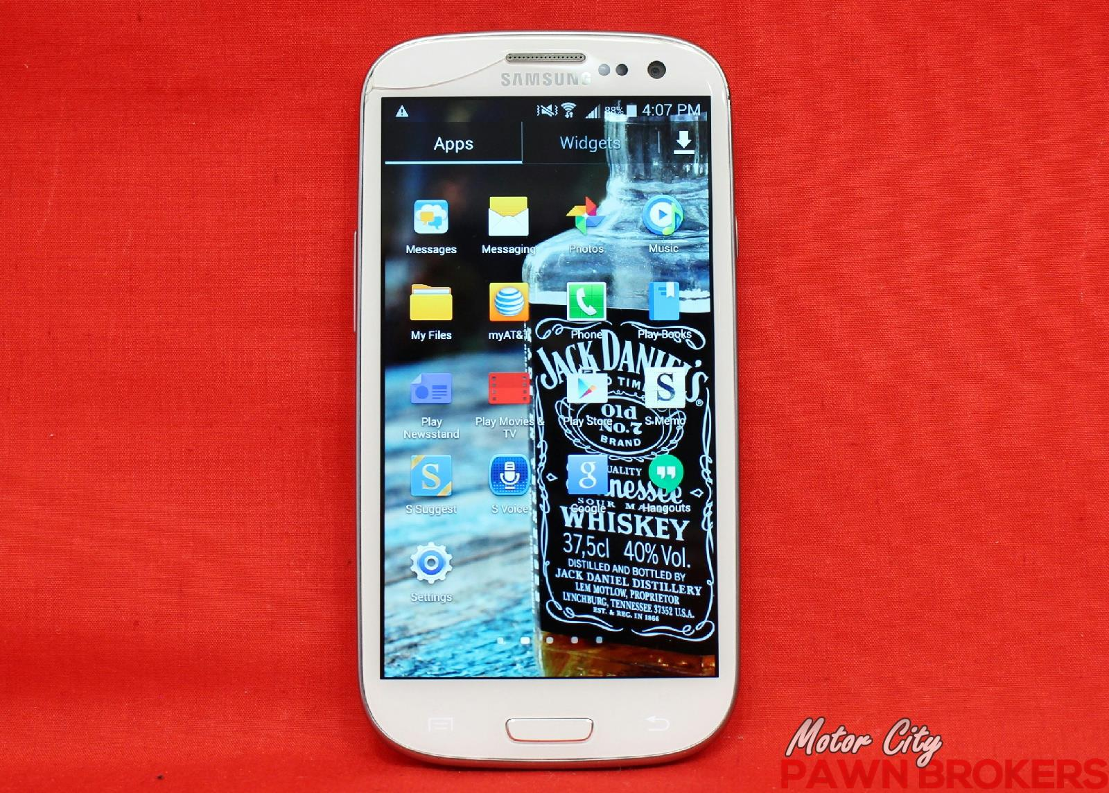 Samsung Galaxy S Iii Sgh I747 16gb Marble White At T