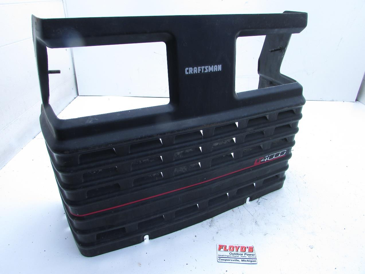 Lawn Mower Grill : Craftsman lt lawn tractor grille ebay