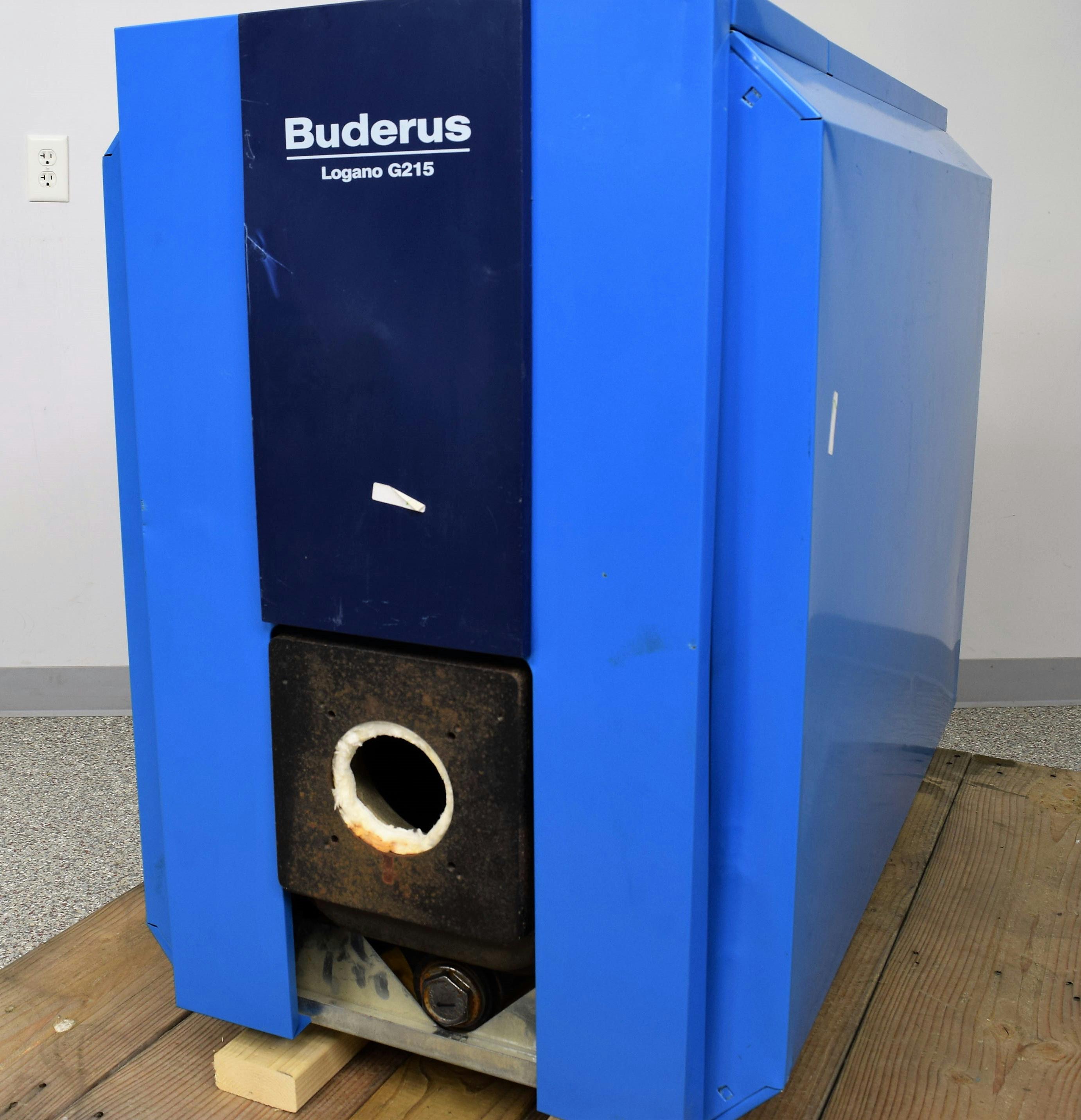 Oil Furnace Hot Water Boiler ~ New buderus g waste used oil gas burner k btu hot