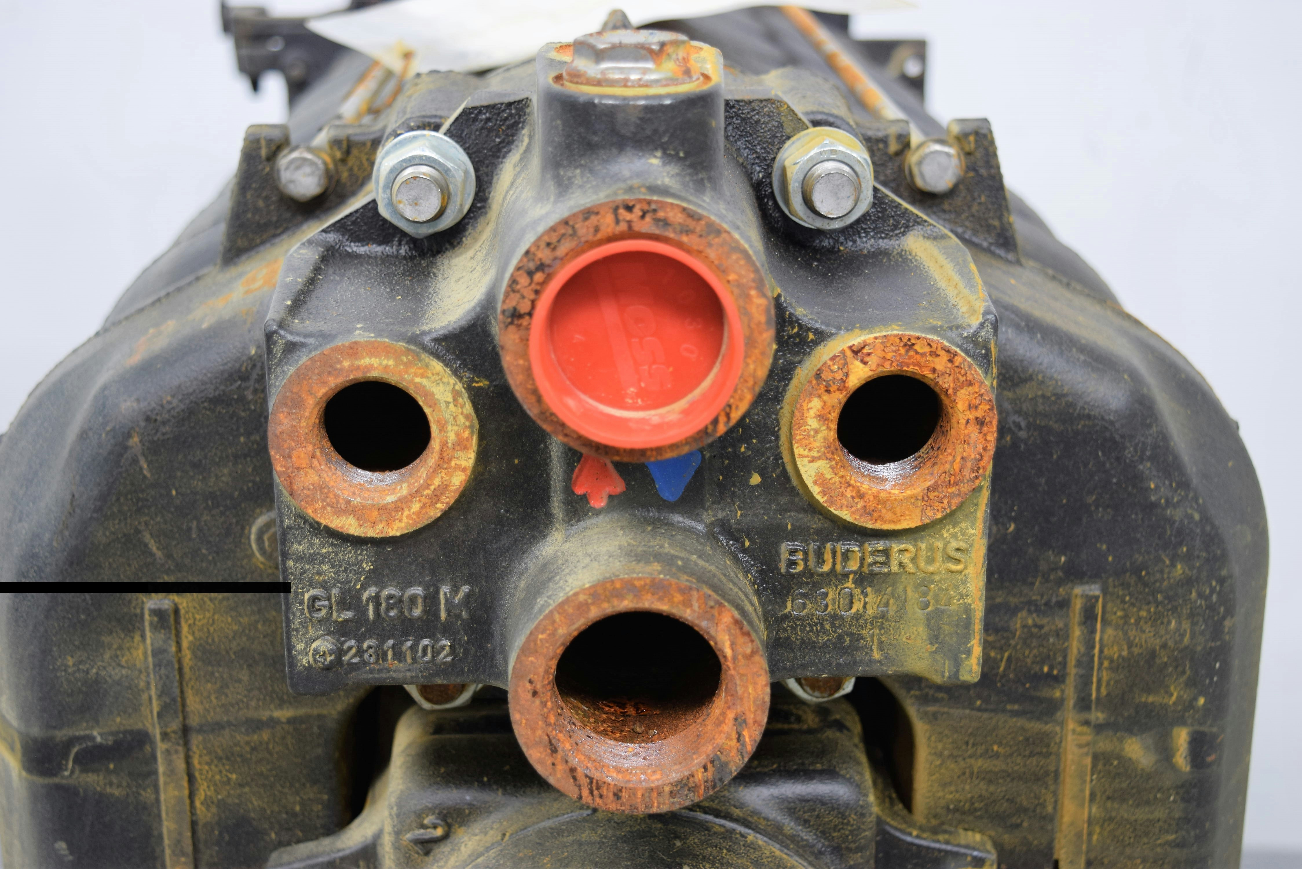 New Buderus G215 7 Waste Used Oil Gas Burner 294k Btu Hot Water Boiler Furnace Ebay