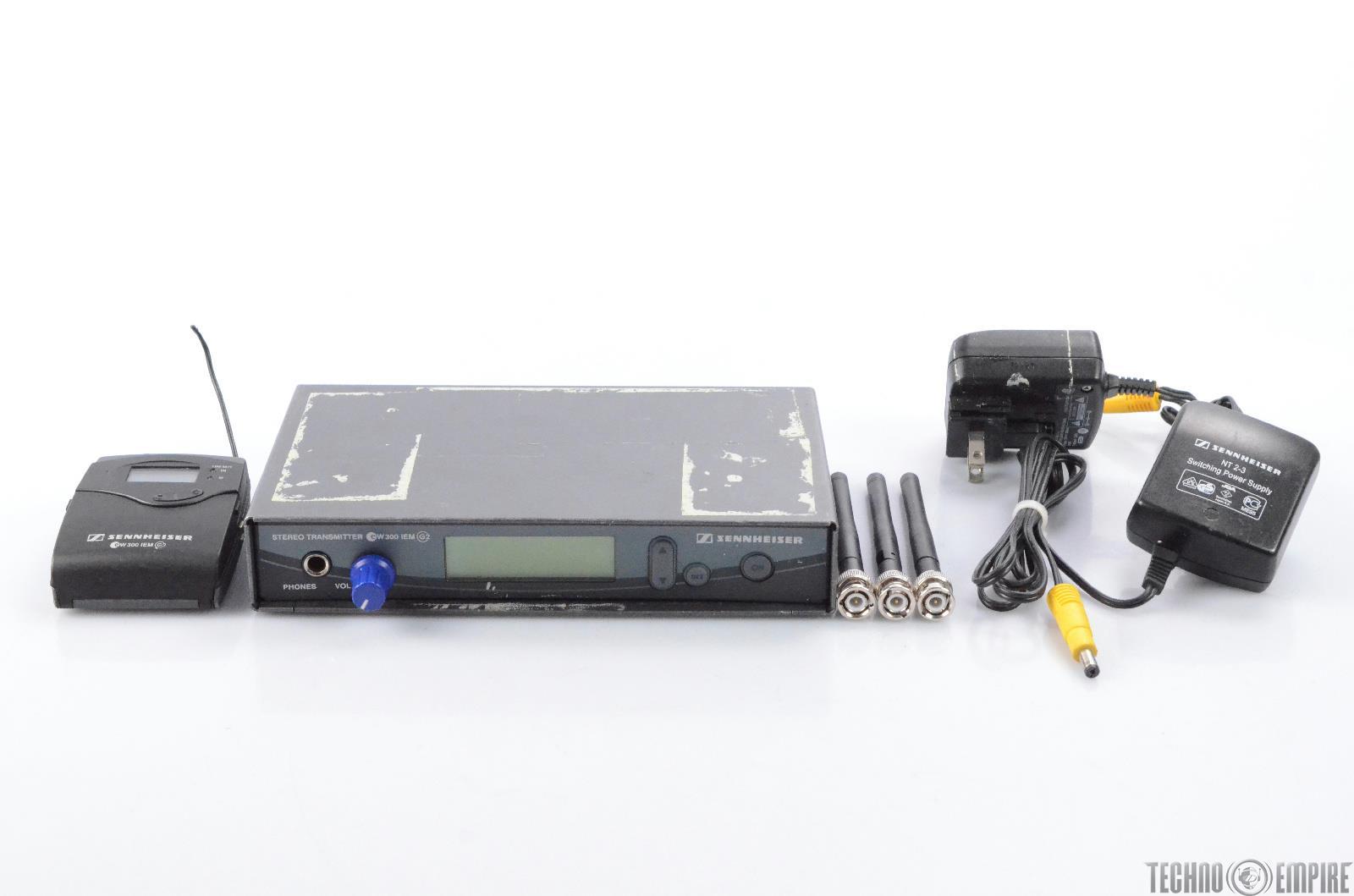 Sennheiser EW 300 IEM G2 Wireless System Reciever & Transmitter #28316