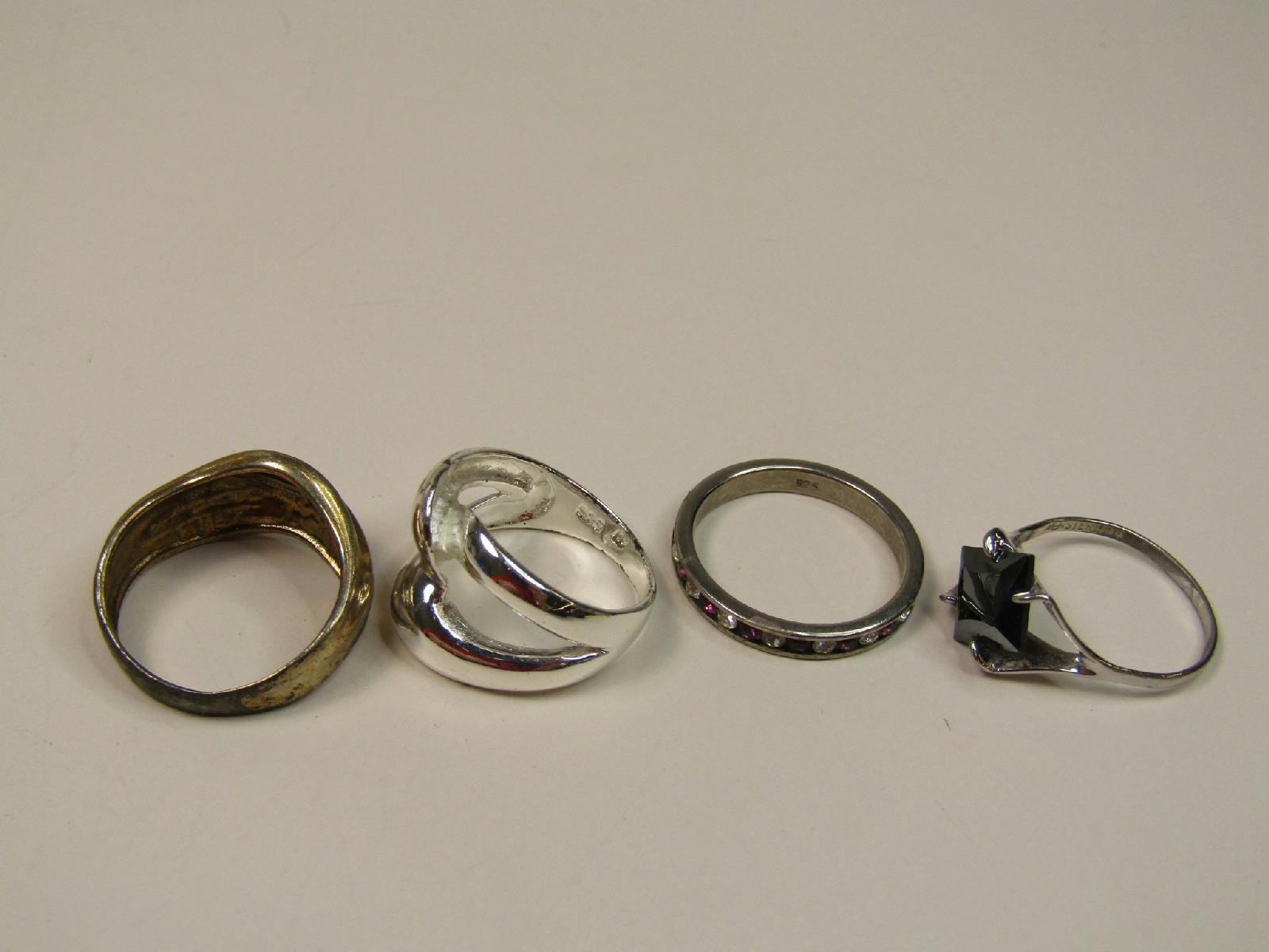 sterling silver failed magnet test jewelry lot necklaces