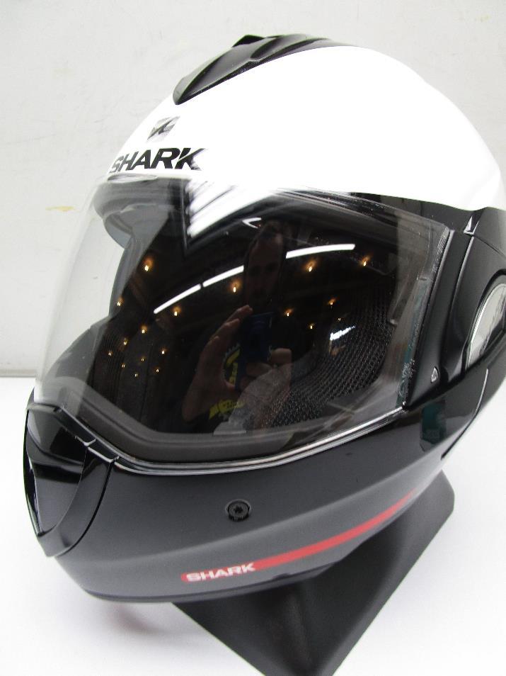 shark evoline series 3 st hakka motorcycle helmet small ebay. Black Bedroom Furniture Sets. Home Design Ideas