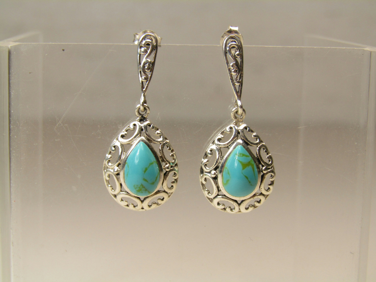 sterling silver marked jewelry turquoise color stone. Black Bedroom Furniture Sets. Home Design Ideas
