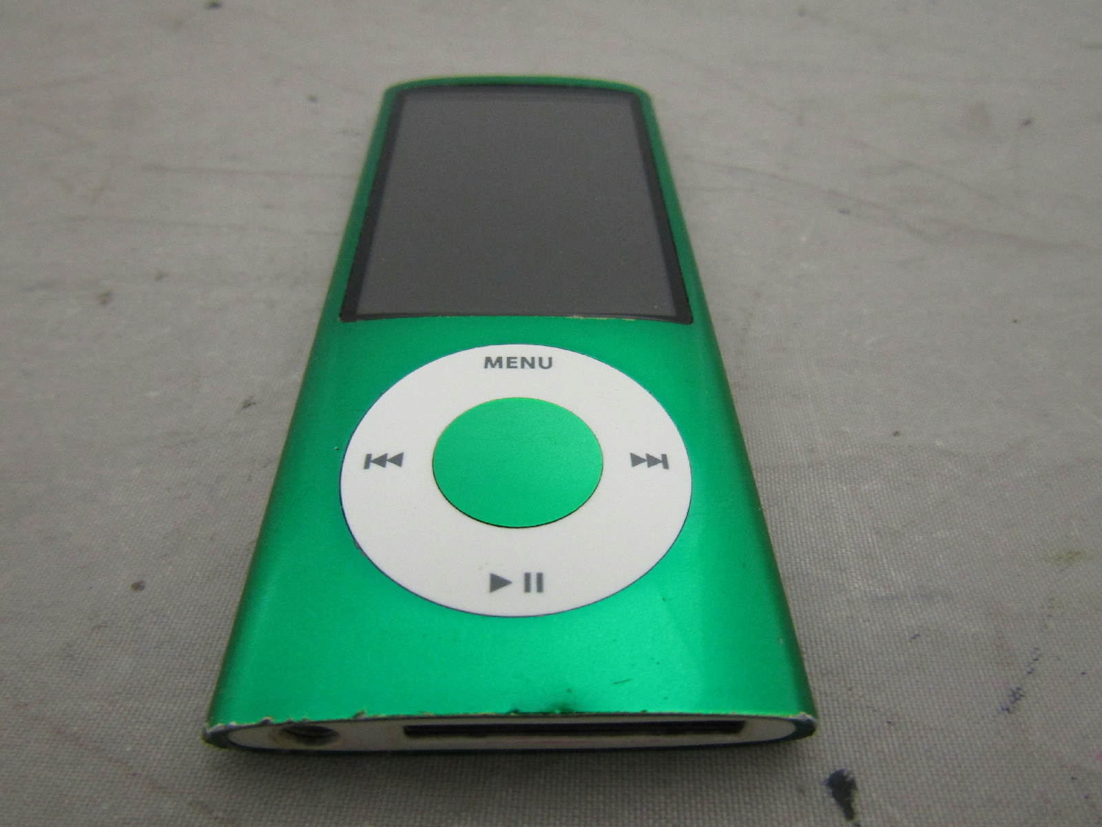 apple ipod nano 5th gen model a1320 camera green for parts. Black Bedroom Furniture Sets. Home Design Ideas