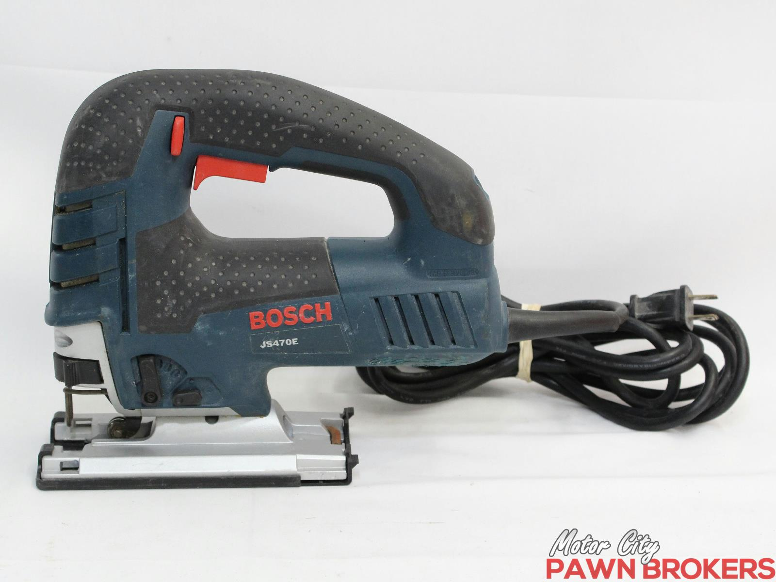 Bosch js470e top handle orbital corded jig saw for Motor city pawn shop