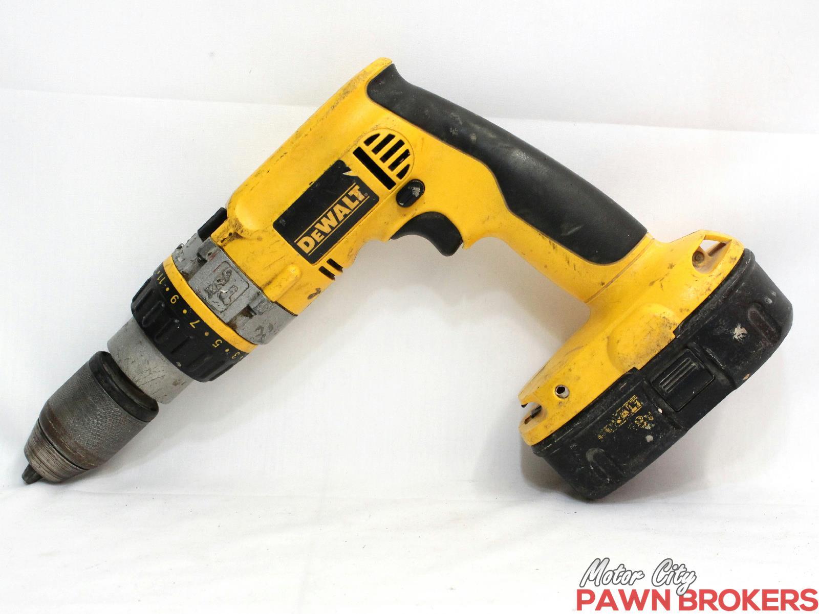 dewalt dw989 xrp 18v 1 2 cordless hammer drill. Black Bedroom Furniture Sets. Home Design Ideas