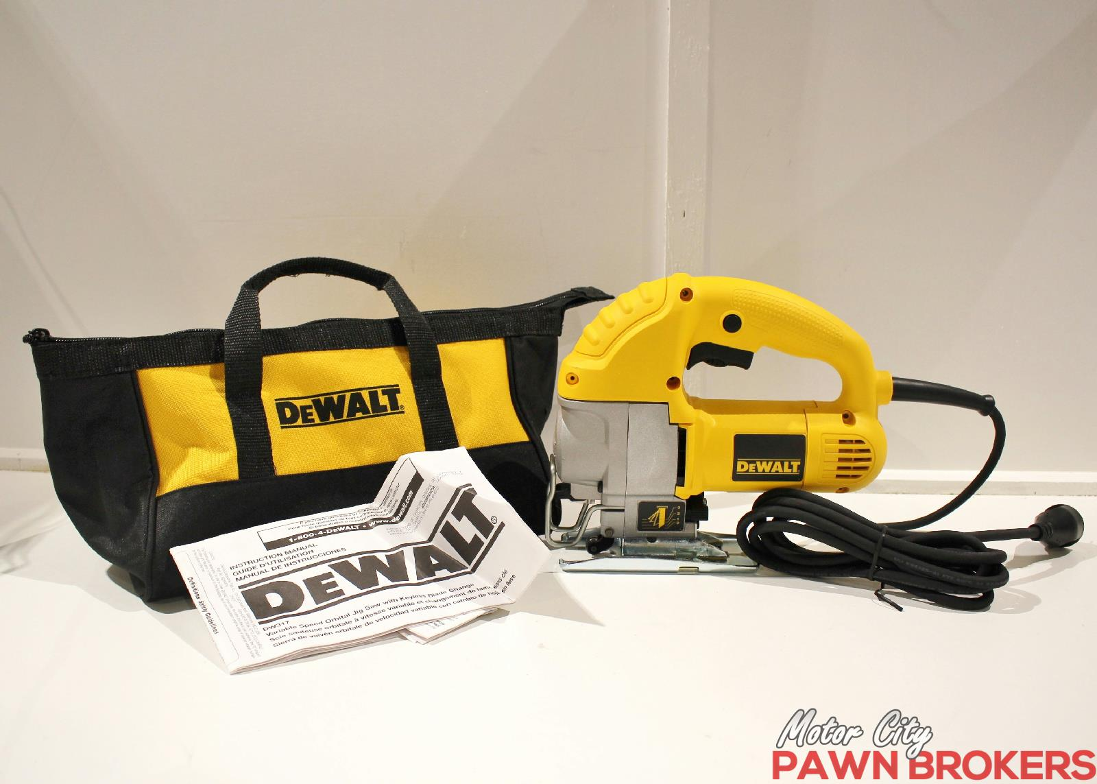 Dewalt Dw317 5 5a Motor Variable Speed 1 Stroke