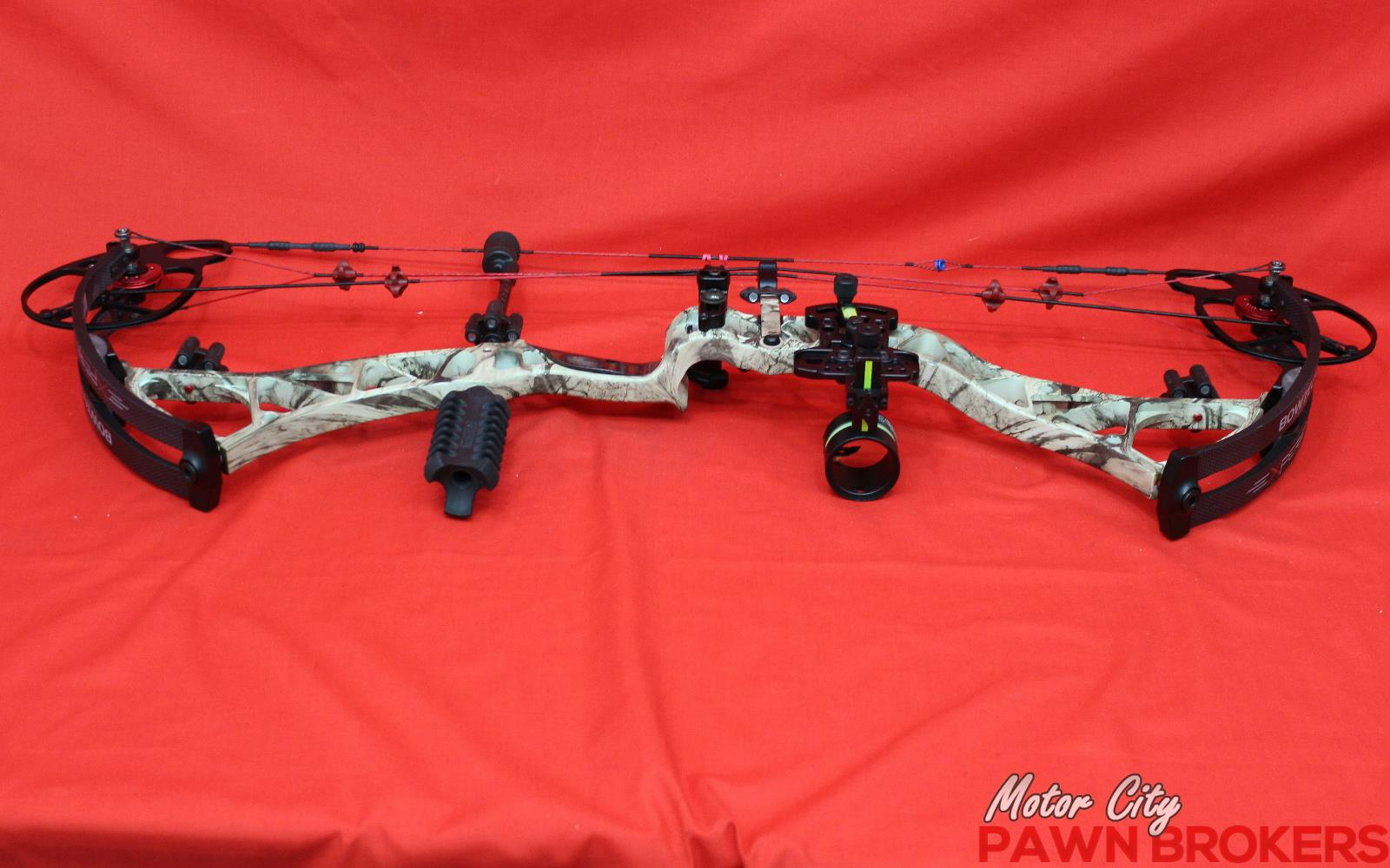 Bowtech experience 29 draw length 70lb draw weight for Motor city pawn shop