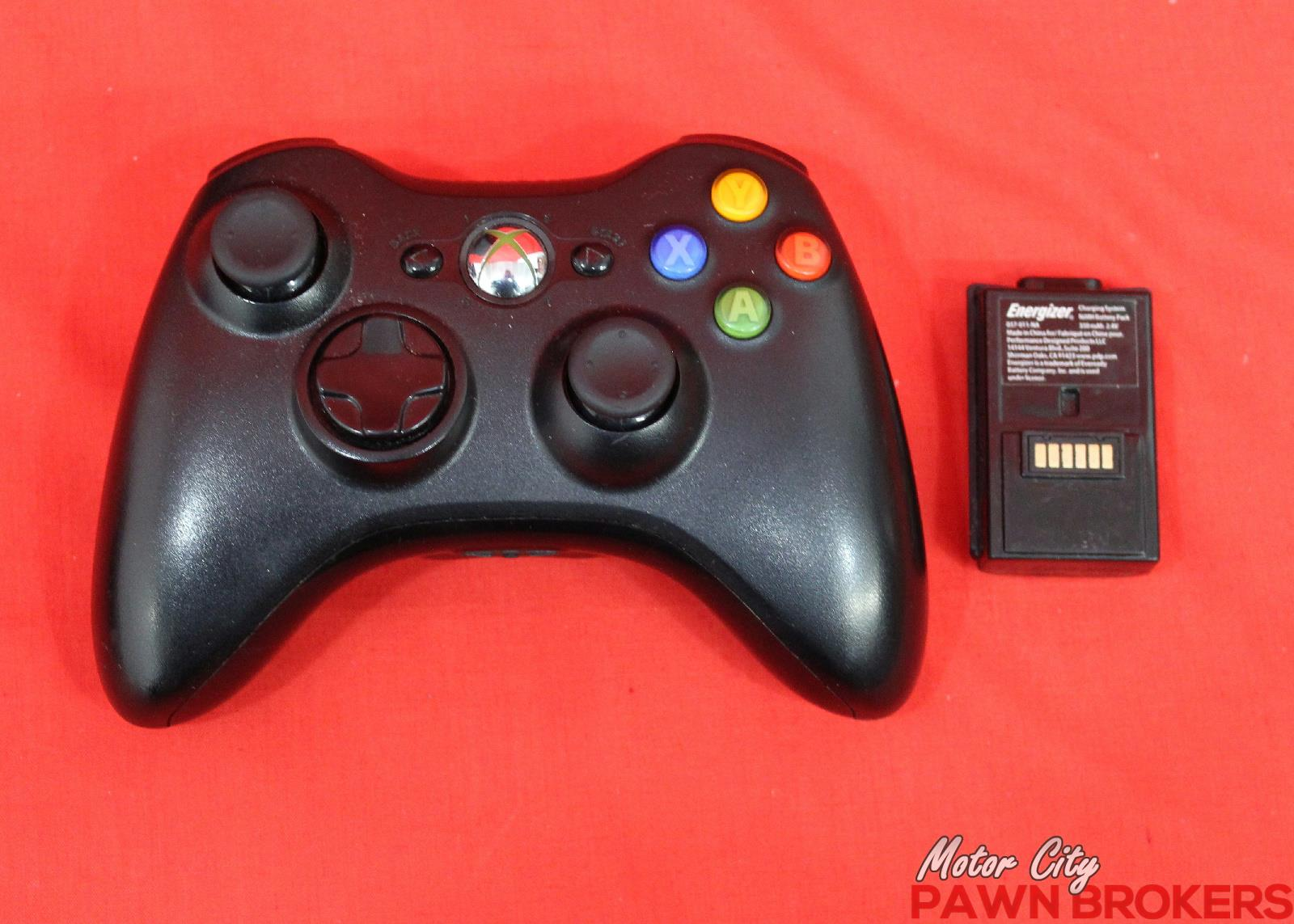 Microsoft xbox 360 s 1439 20 gb black video gaming for Motor city pawn shop