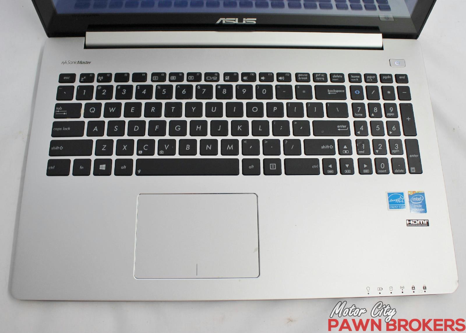 Asus vivobook s500c 15 6 500gb intel pentium 1 8ghz for Motor city pawn shop