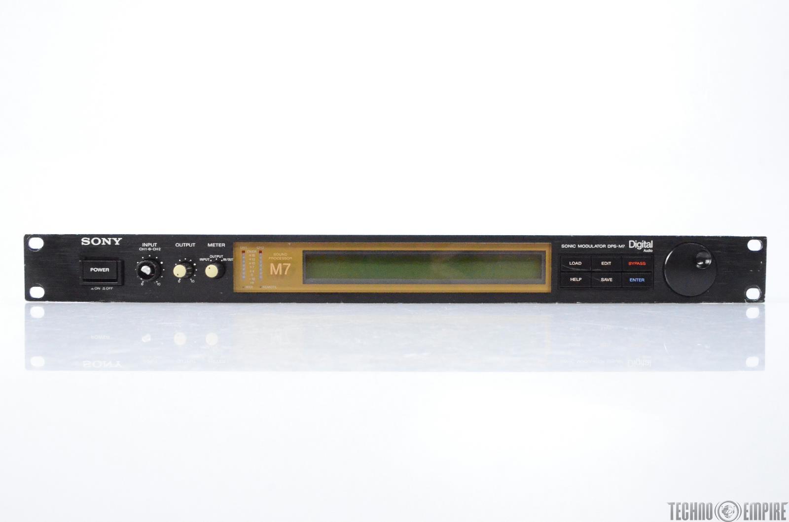 Sony DPS M7 Sonic Modulator Digital Sound Processor #28378