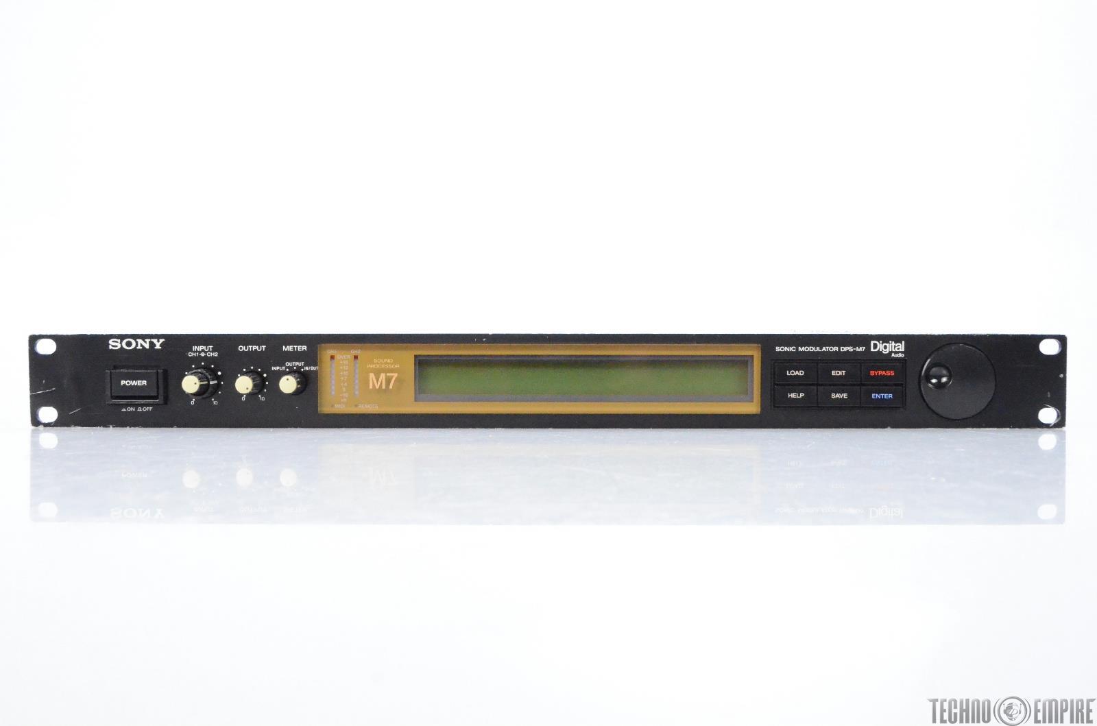 Sony DPS M7 Sonic Modulator Digital Sound Processor #28381