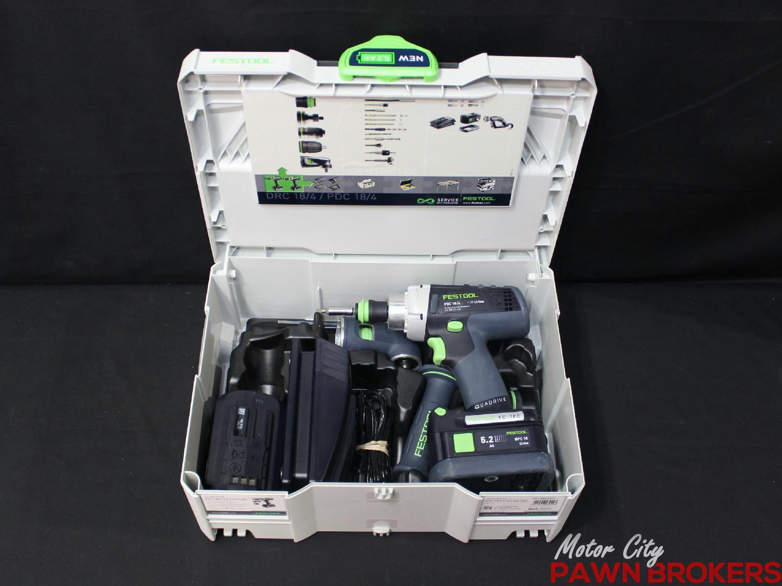 Festool No 564597 Quadrive Pdc 18 4 18v 1 2