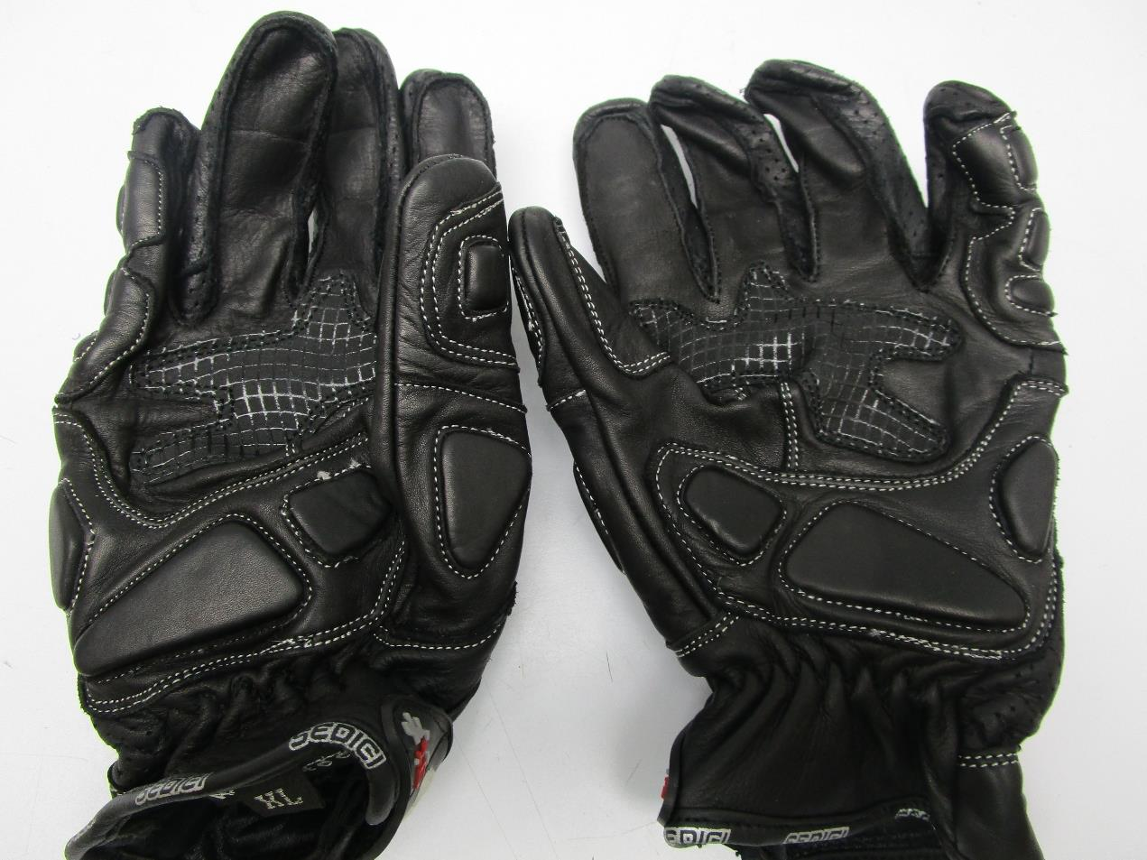 Diavolo leather motorcycle gloves - Condition Display Model And In Great Condition Has Some Light Dirt