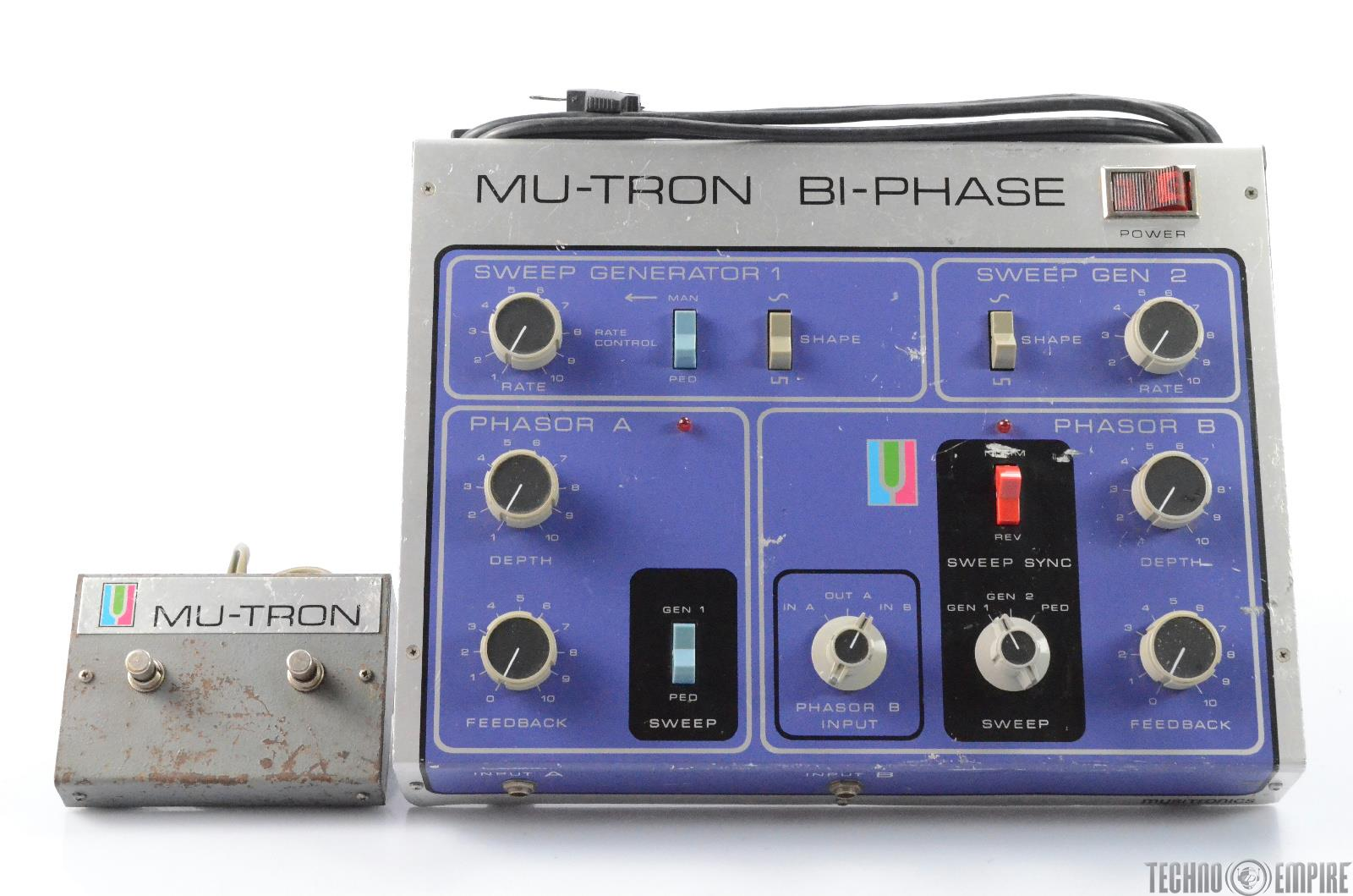 Musitronics Mu-Tron Bi-Phase w/ Original Switch Pedal #28384