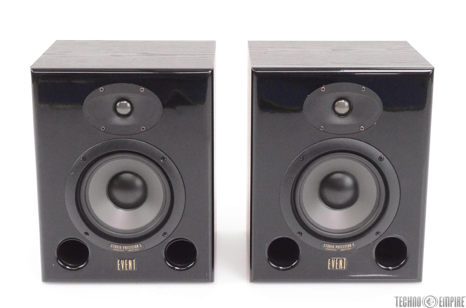 Event Studio Precision 6 Biamplified Active Studio Monitors ASP6 #28338