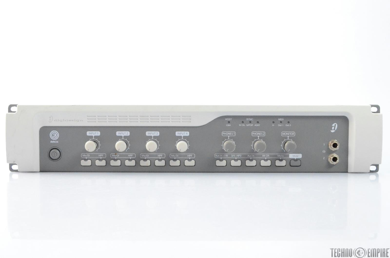 Digidesign 003 Rack Audio Recording Interface for Pro Tools #28460