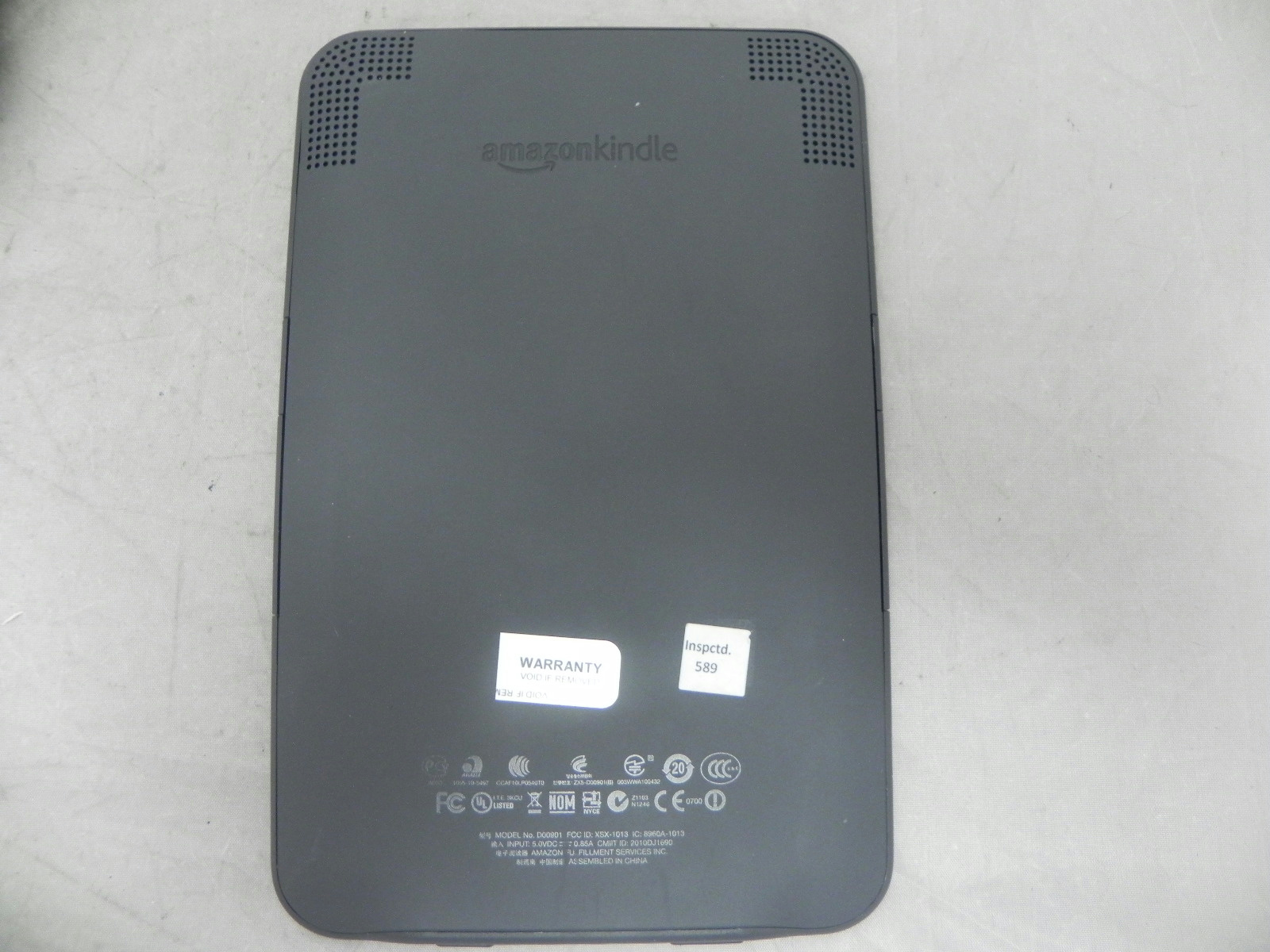 Amazon Kindle Ebook Ereader Tablet Model D00901 6