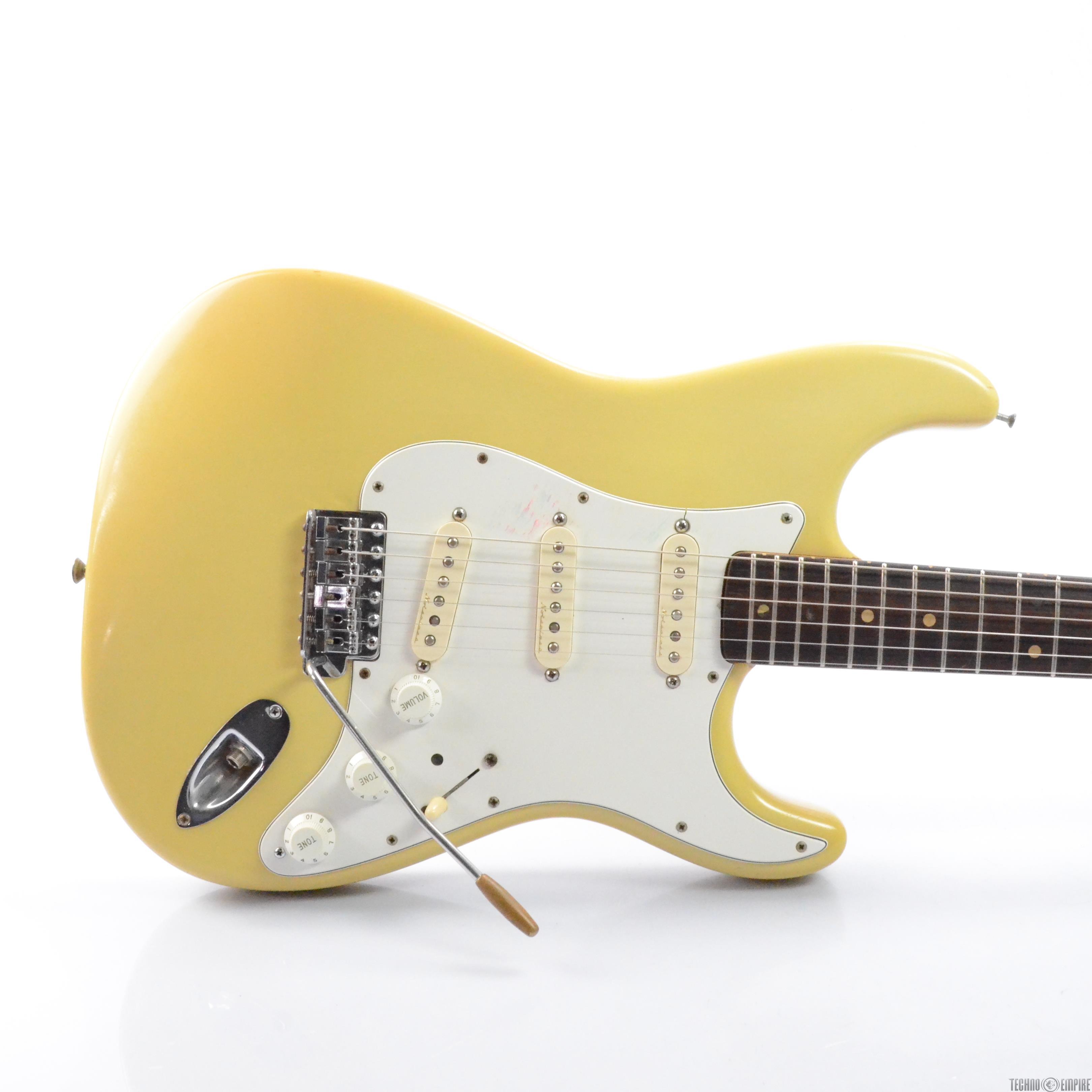 Vintage 1963 Fender Stratocaster Strat Electric Guitar w/ Case Pre CBS #27932