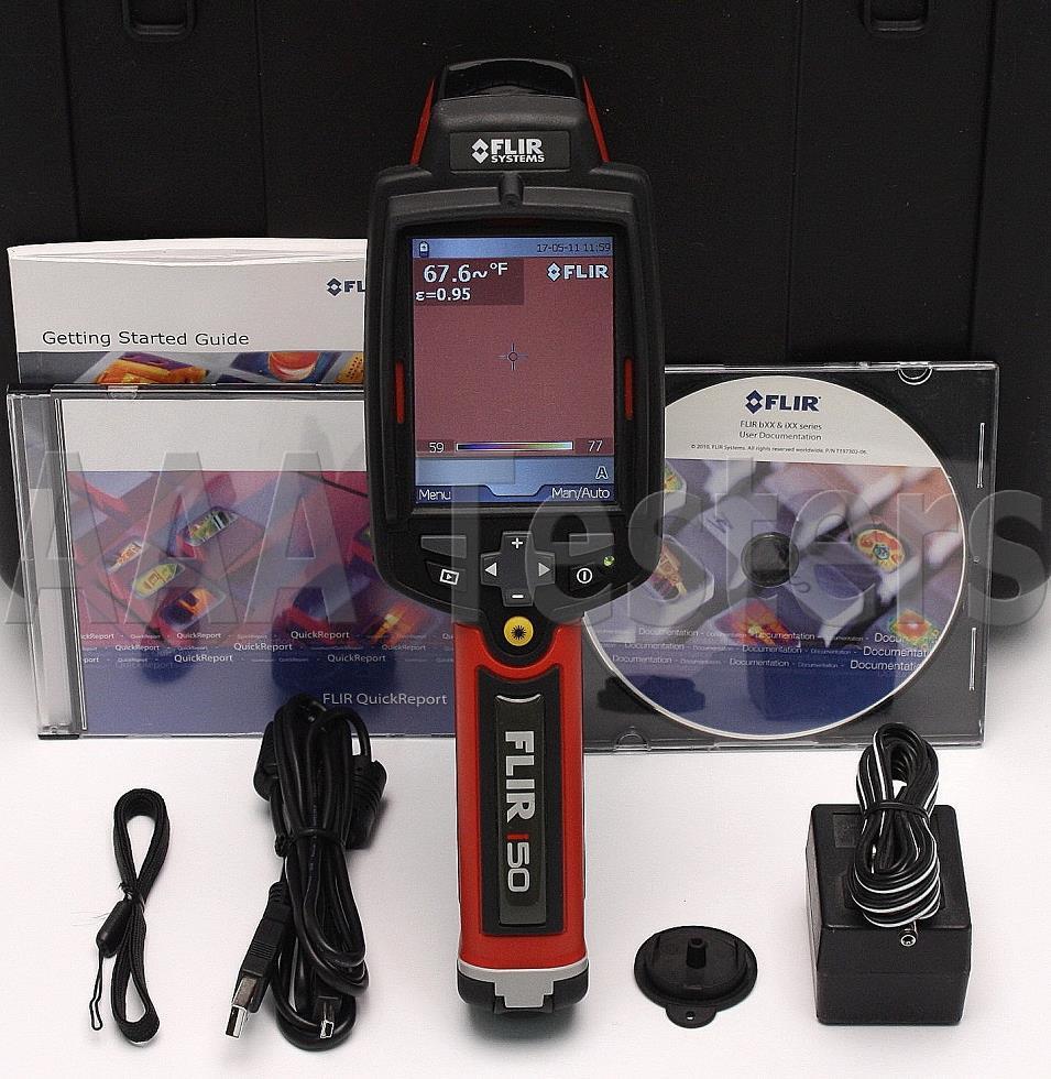 Flir i50 infrared thermal imaging camera ir i 50 imager for Thermal imaging report template