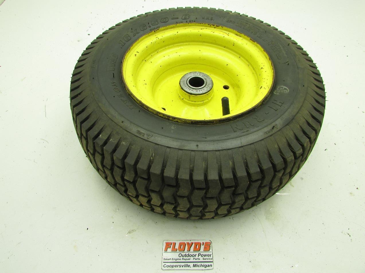 John Deere Turf Tractor Tires : John deere lawn tractor front wheel rim tire