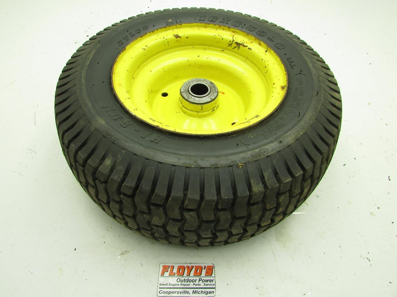 For John Deere Garden Tractor Wheel Rims : John deere lawn tractor front wheel rim tire am