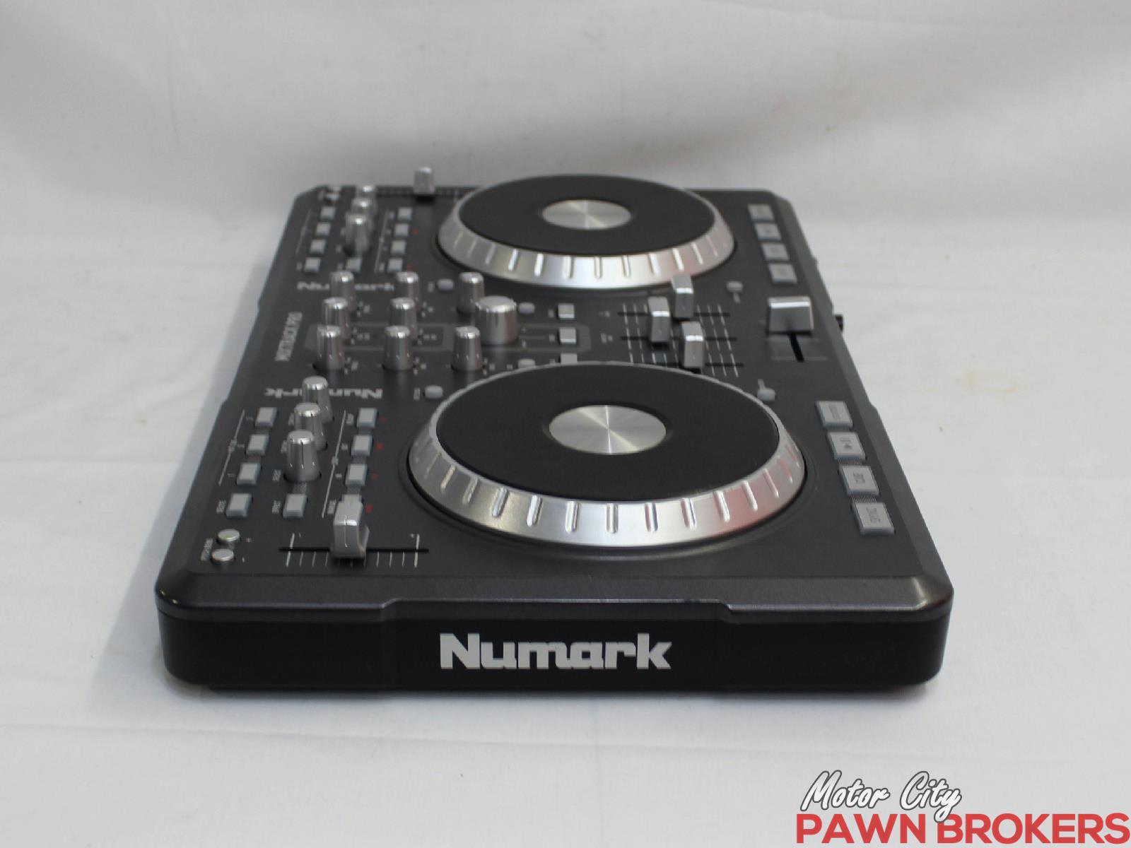 Numark mixtrack pro grey usb powered dual deck for Motor city pawn shop