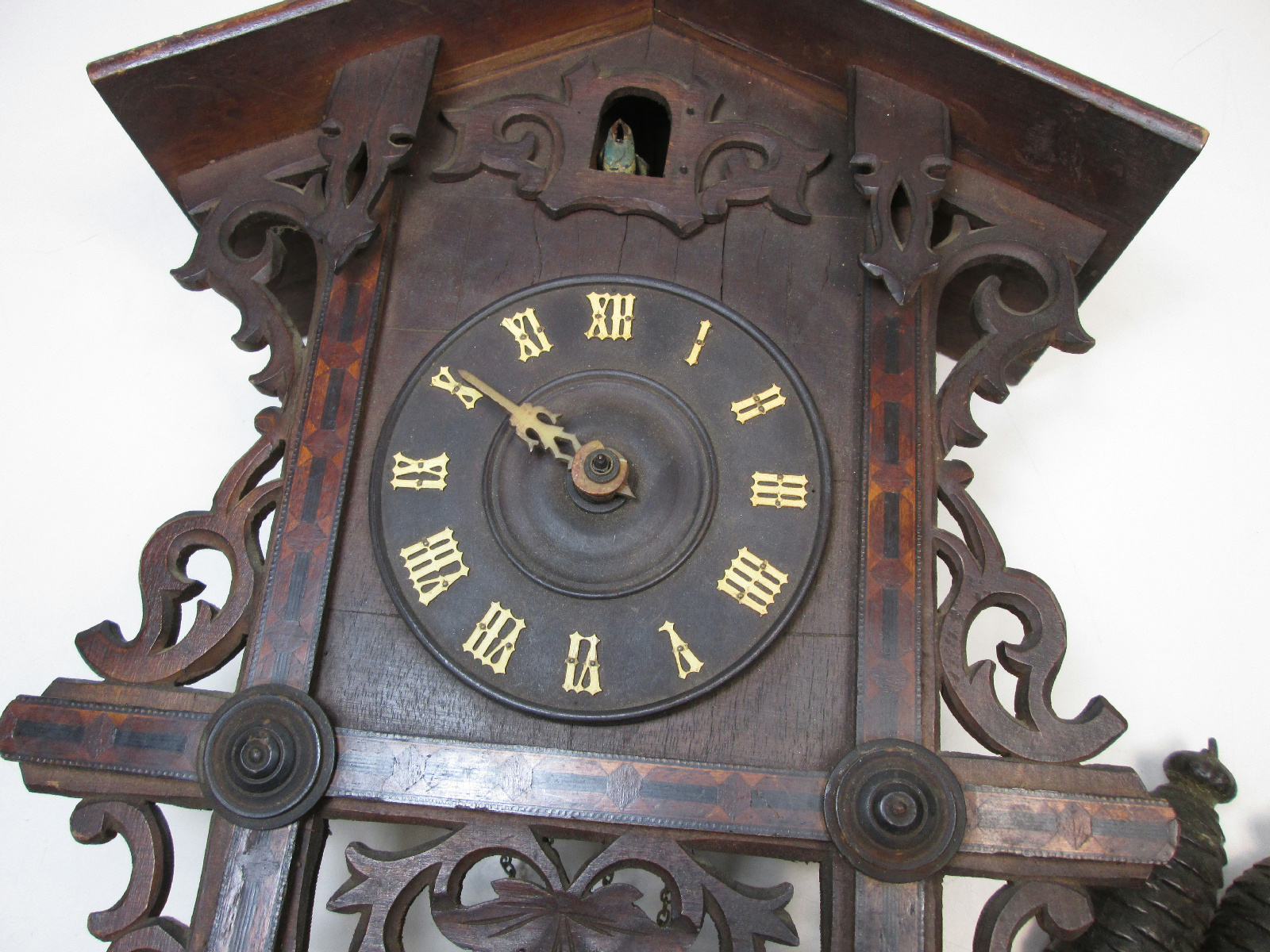 Fantastic Other Clocks  Vintage Wood Clock Housing And Spare Parts