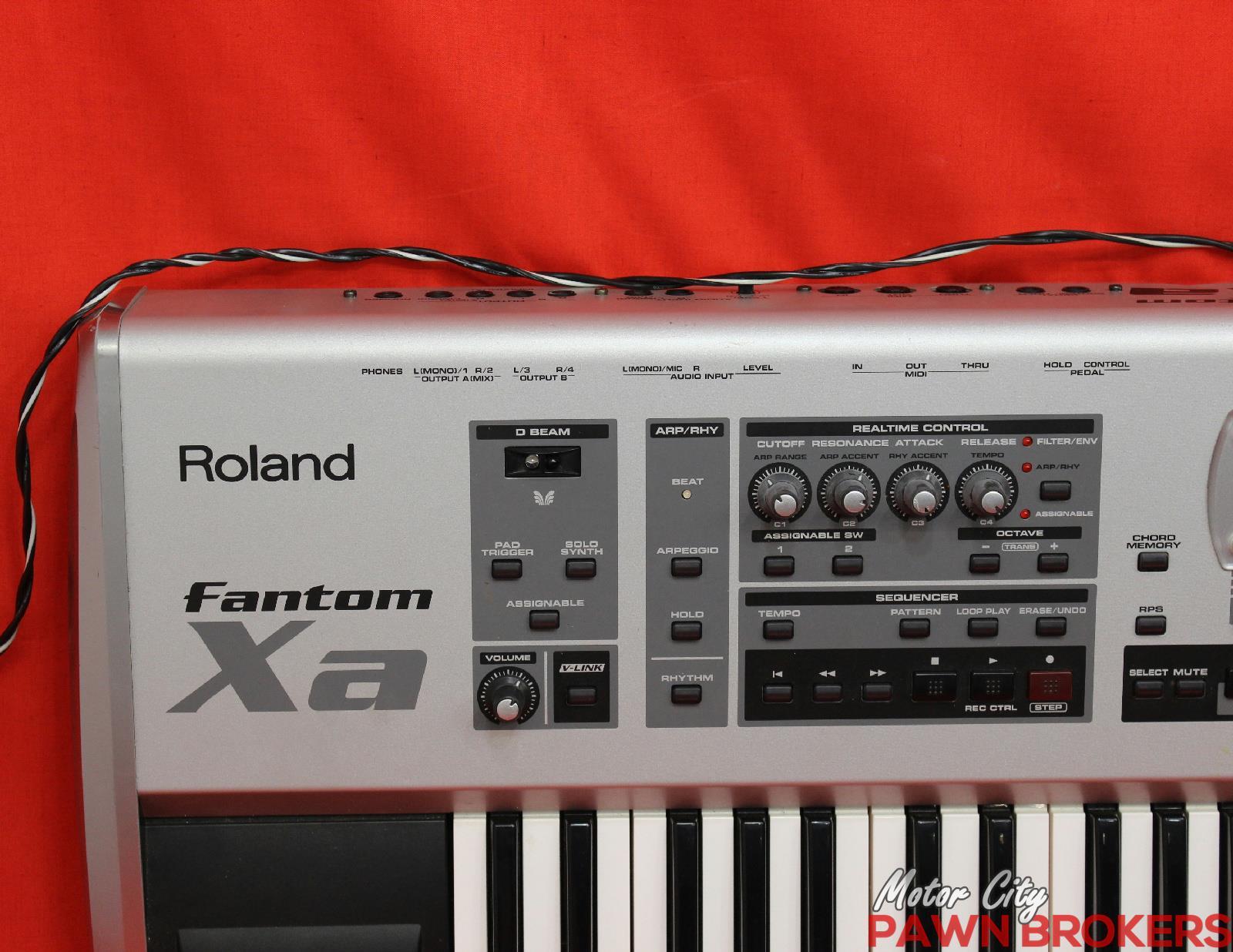 Roland Keyboard Workstation 61 Keys : roland fantom xa 61 key sequencer 128 voice keyboard workstation as is ~ Hamham.info Haus und Dekorationen