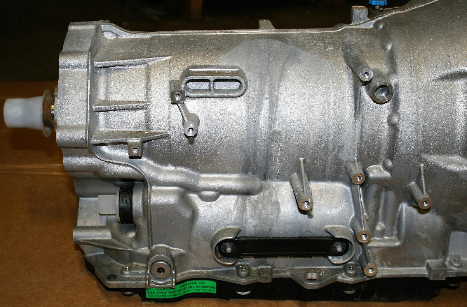 Maserati Ghibli Automatic Transmission 8hp 70x