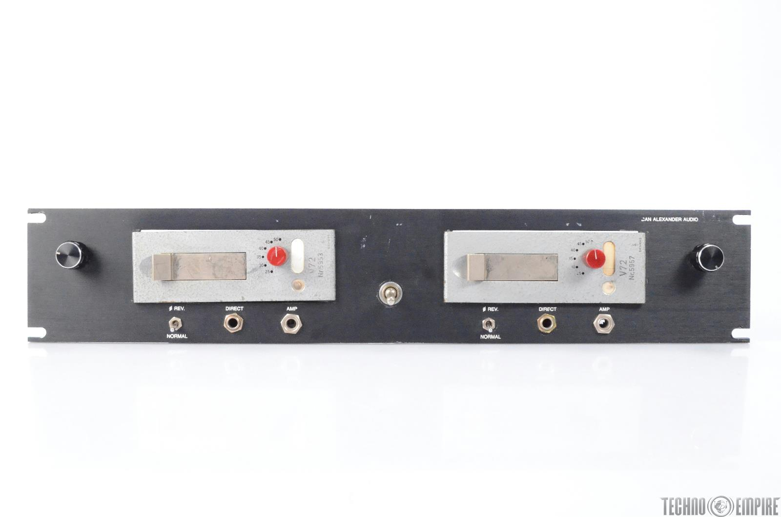 Siemens Telefunken V72 Microphone Preamp Modules w/ Direct Inputs 220V #25772