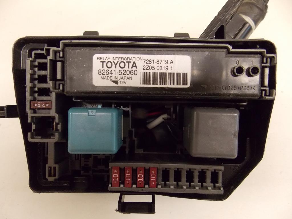 2012 Toyota Yaris Fuse Box Auto Electrical Wiring Diagram 12 15 1 5l Hatchback Under Hood Relay Block Rh Ebay Com