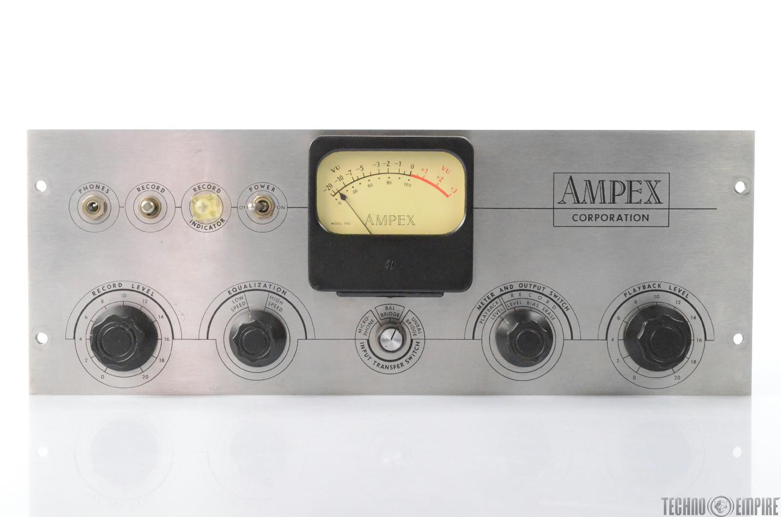 Ampex 350 R Mic Preamp Module w/ Tube Power Supply Fairfax Recordings #28641