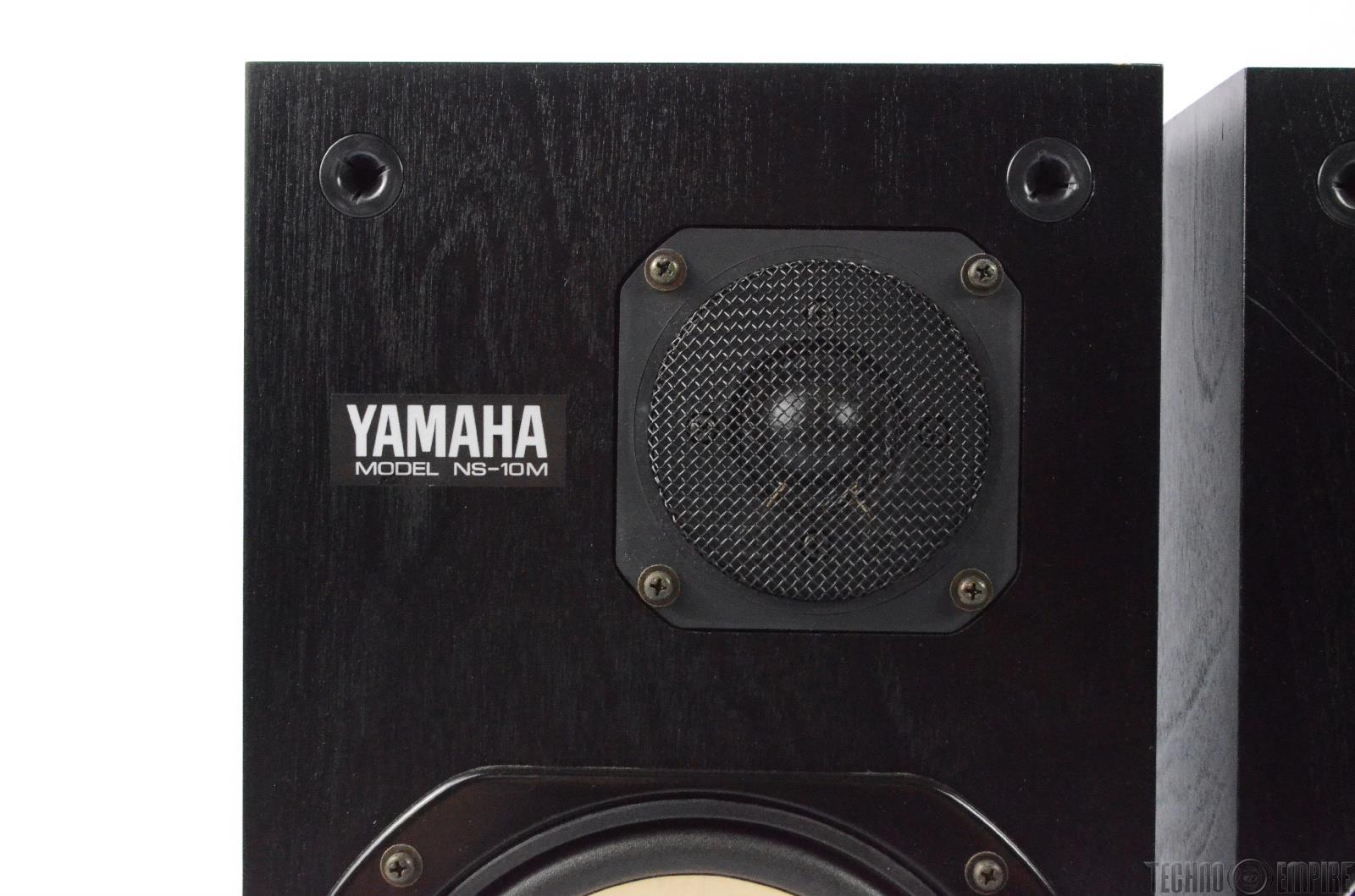 yamaha ns10m. yamaha ns-10m speaker system nearfield reference studio monitor pair #24930 ns10m 0
