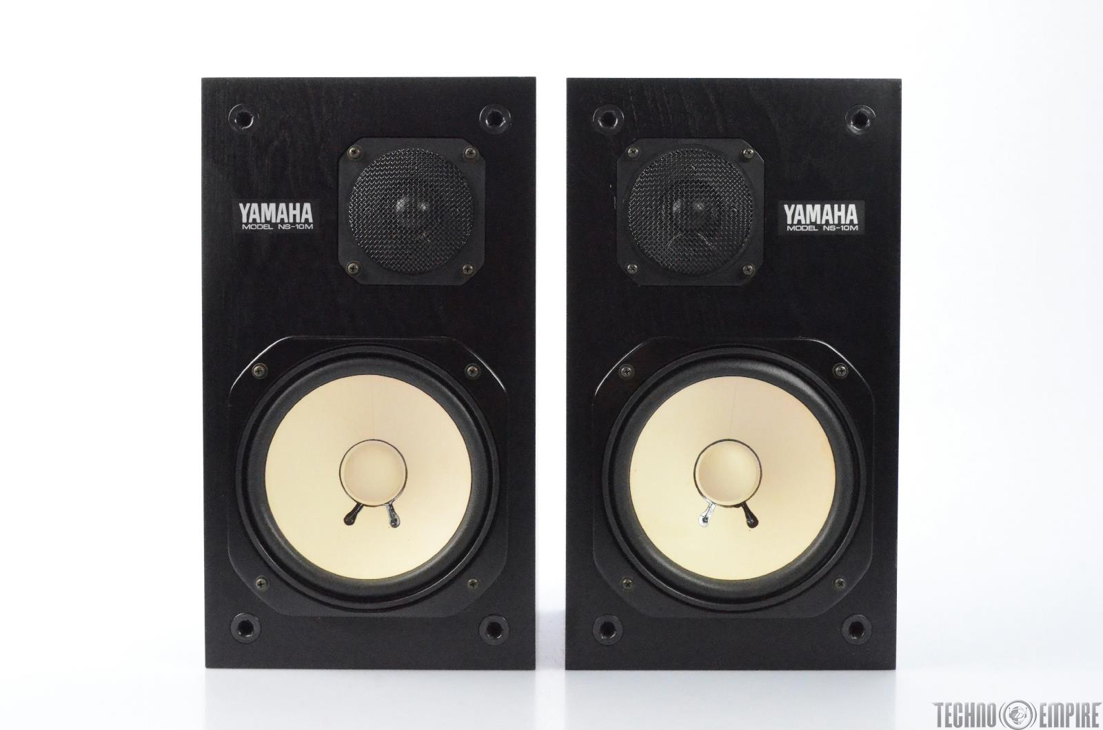 Yamaha NS-10M Speaker System Nearfield Reference Studio Monitor Pair #24930