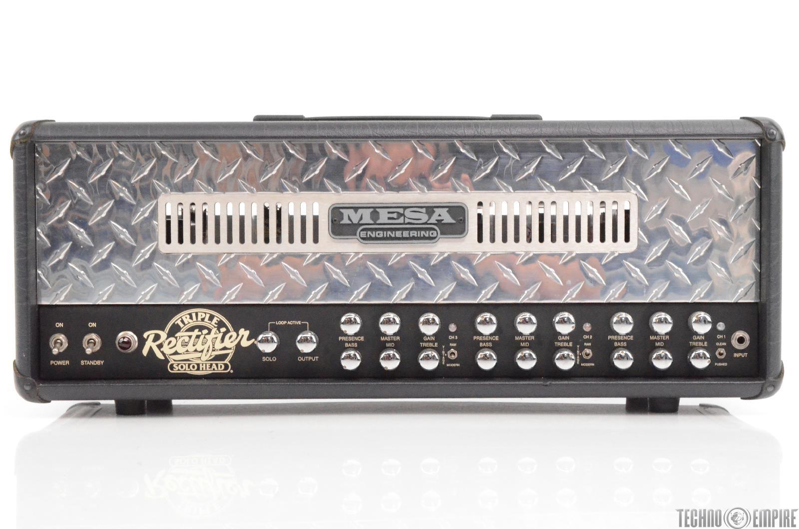 Mesa Engineering Triple Rectifier Solo Head 150 Guitar Amplifier Head #28912