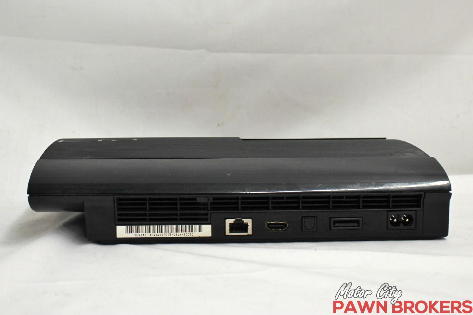 Super Slim Playstation 3 : Sony playstation super slim cech c ps gb