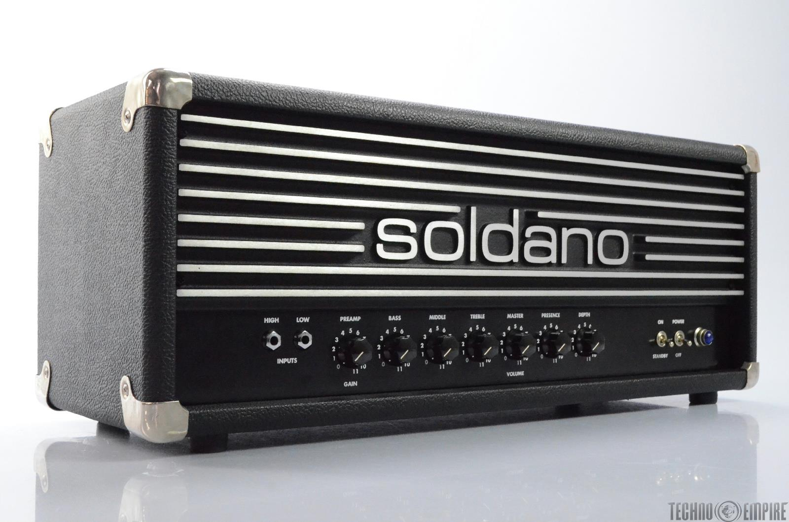 soldano avenger model a 100 guitar amplifier amp head 28917 ebay. Black Bedroom Furniture Sets. Home Design Ideas