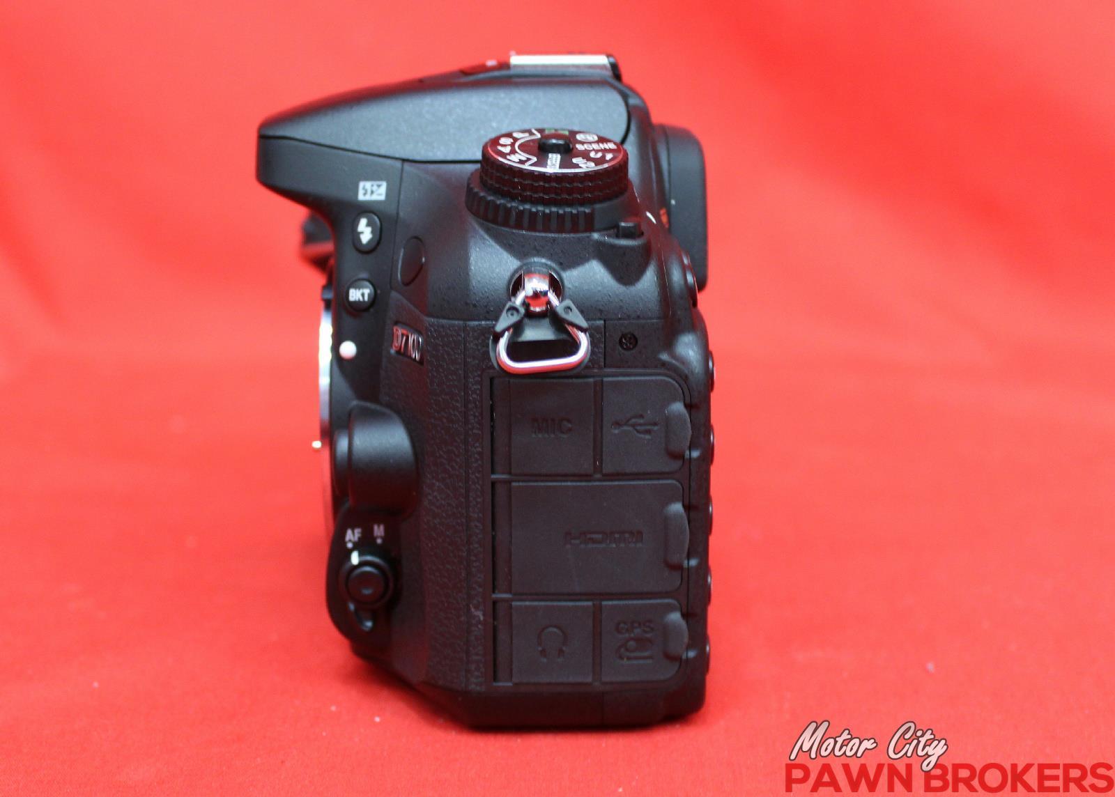 Nikon d7100 24 1 megapixels 3 2 screen sd card hdmi for Motor city pawn shop