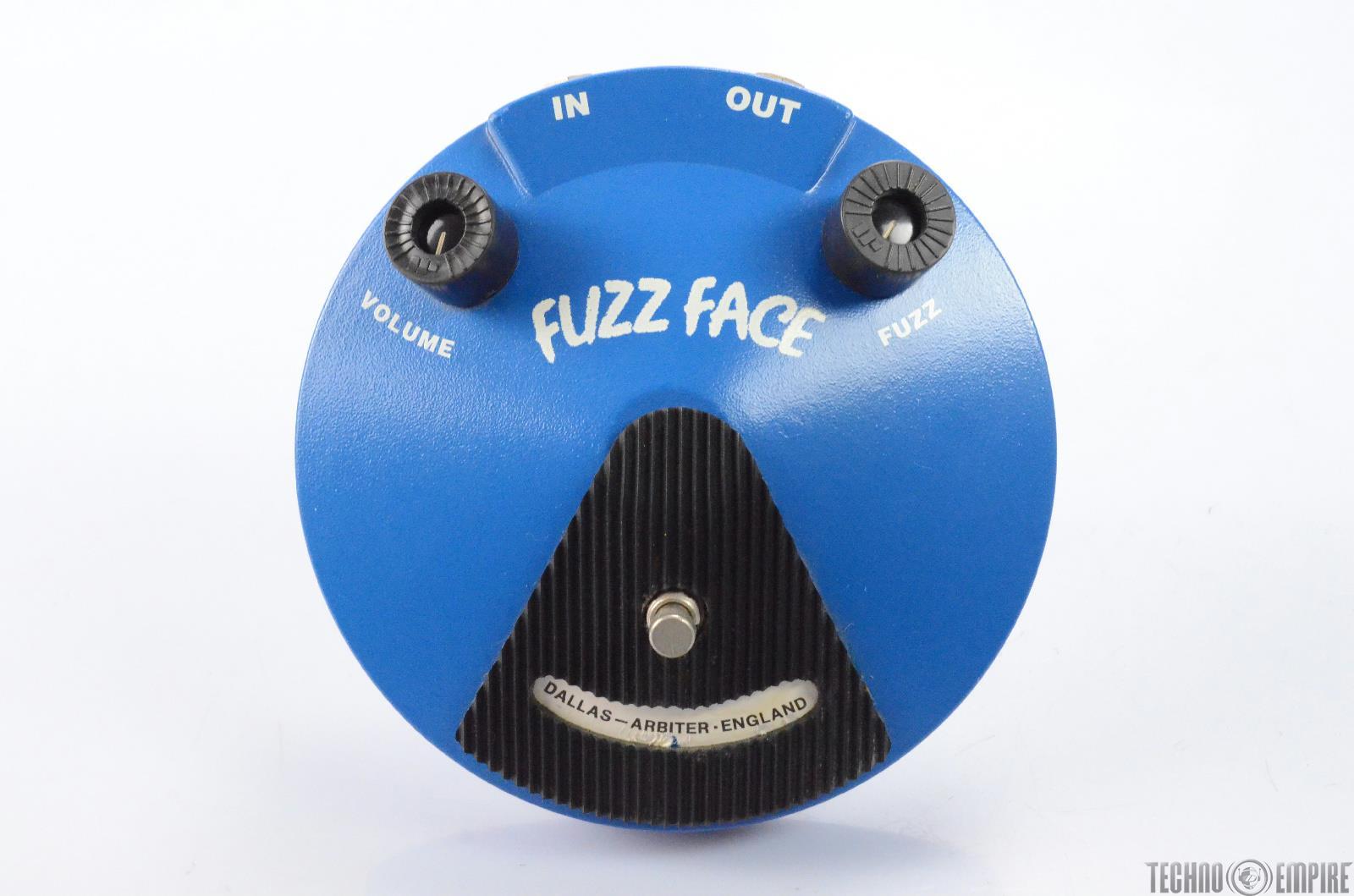 Dunlop Dallas Arbiter JHF2 Fuzz Face Guitar Pedal Page Hamilton Helmet #28948