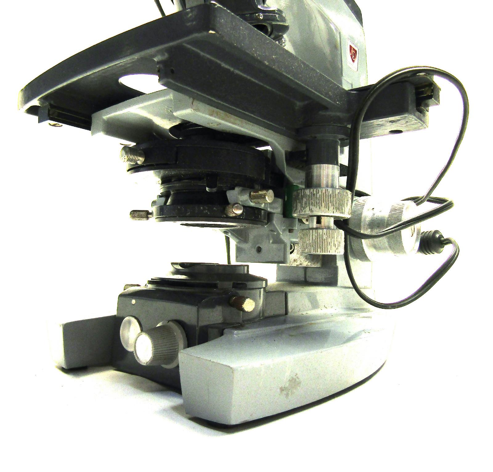 AO Spencer 1136 Laboratory Quad 10x 40x 100x Magnification ...